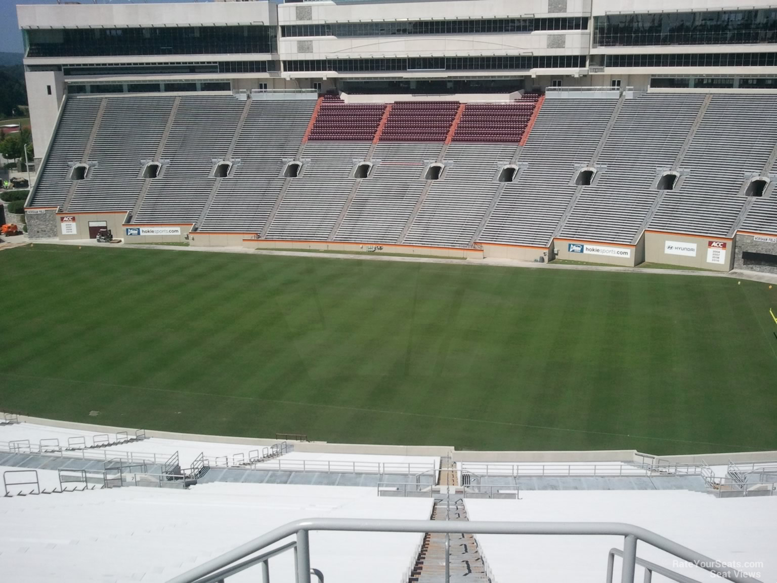 Lane Stadium Section 25 Rateyourseats Com