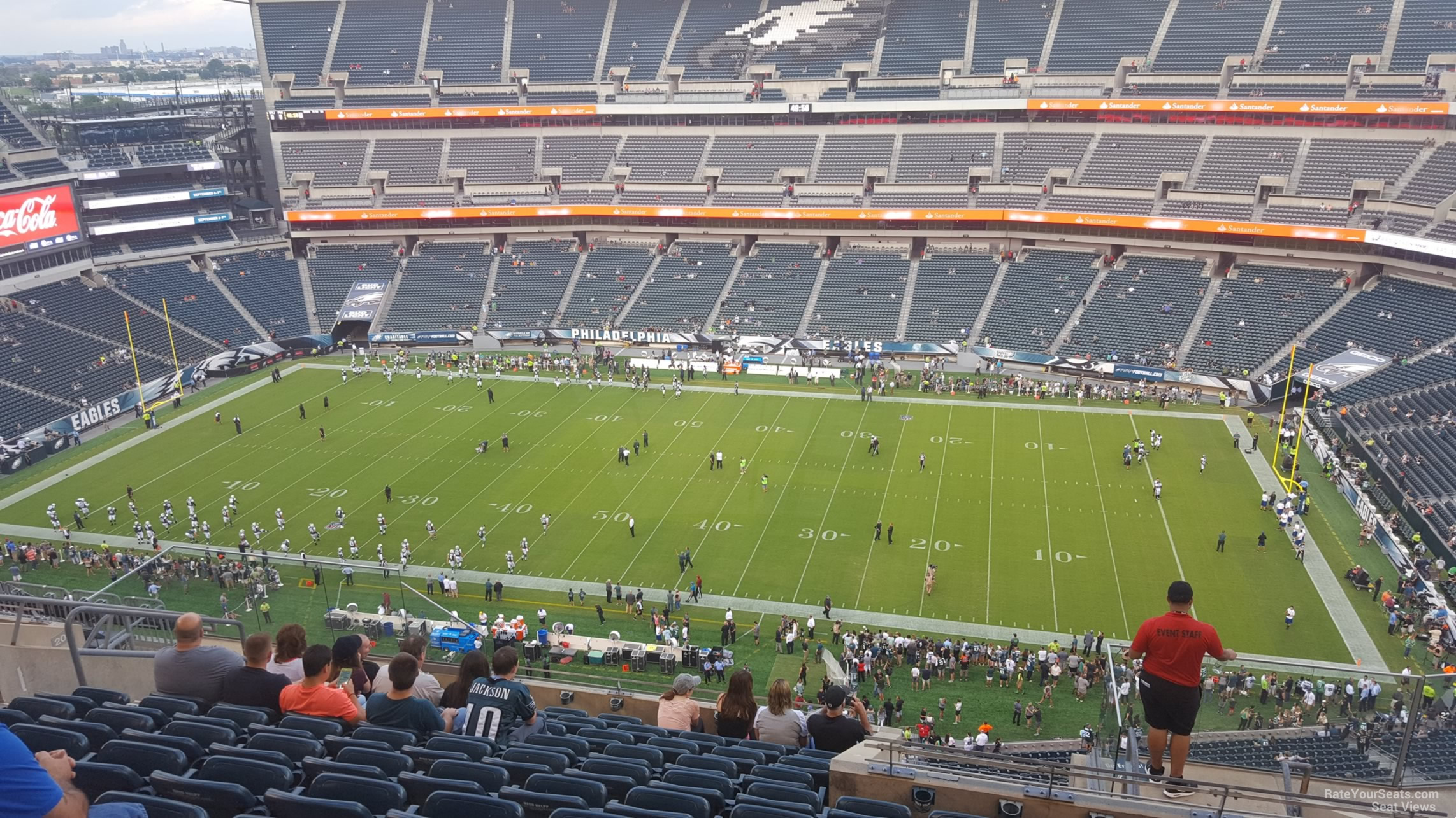 Lincoln Financial Field Section 203 - Philadelphia Eagles ...