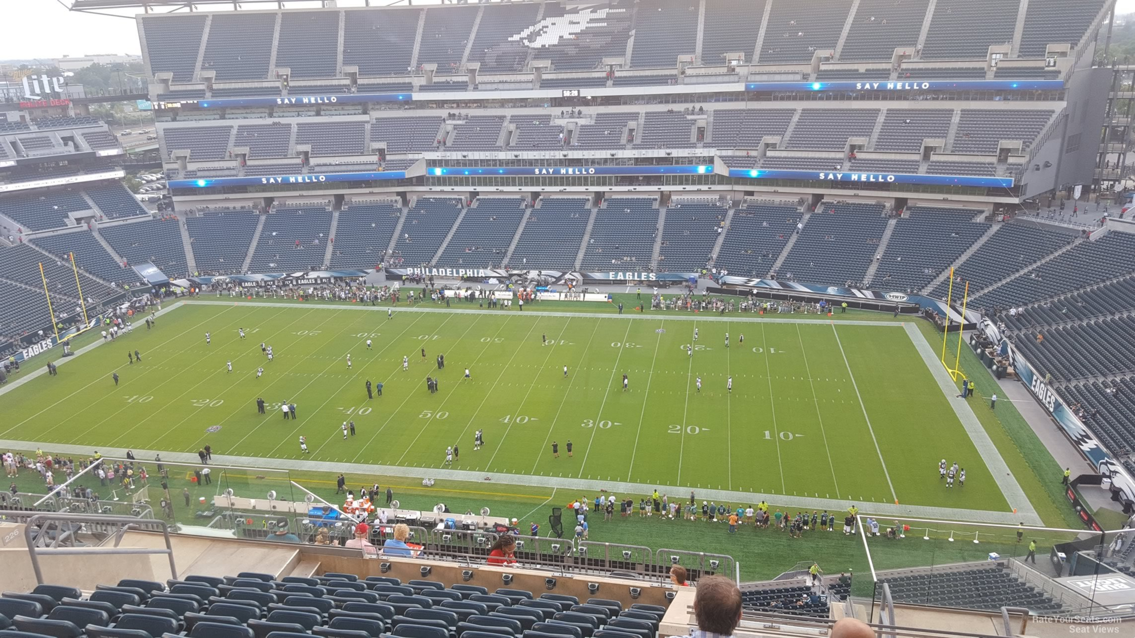 Lincoln Financial Field Section 227 Philadelphia Eagles