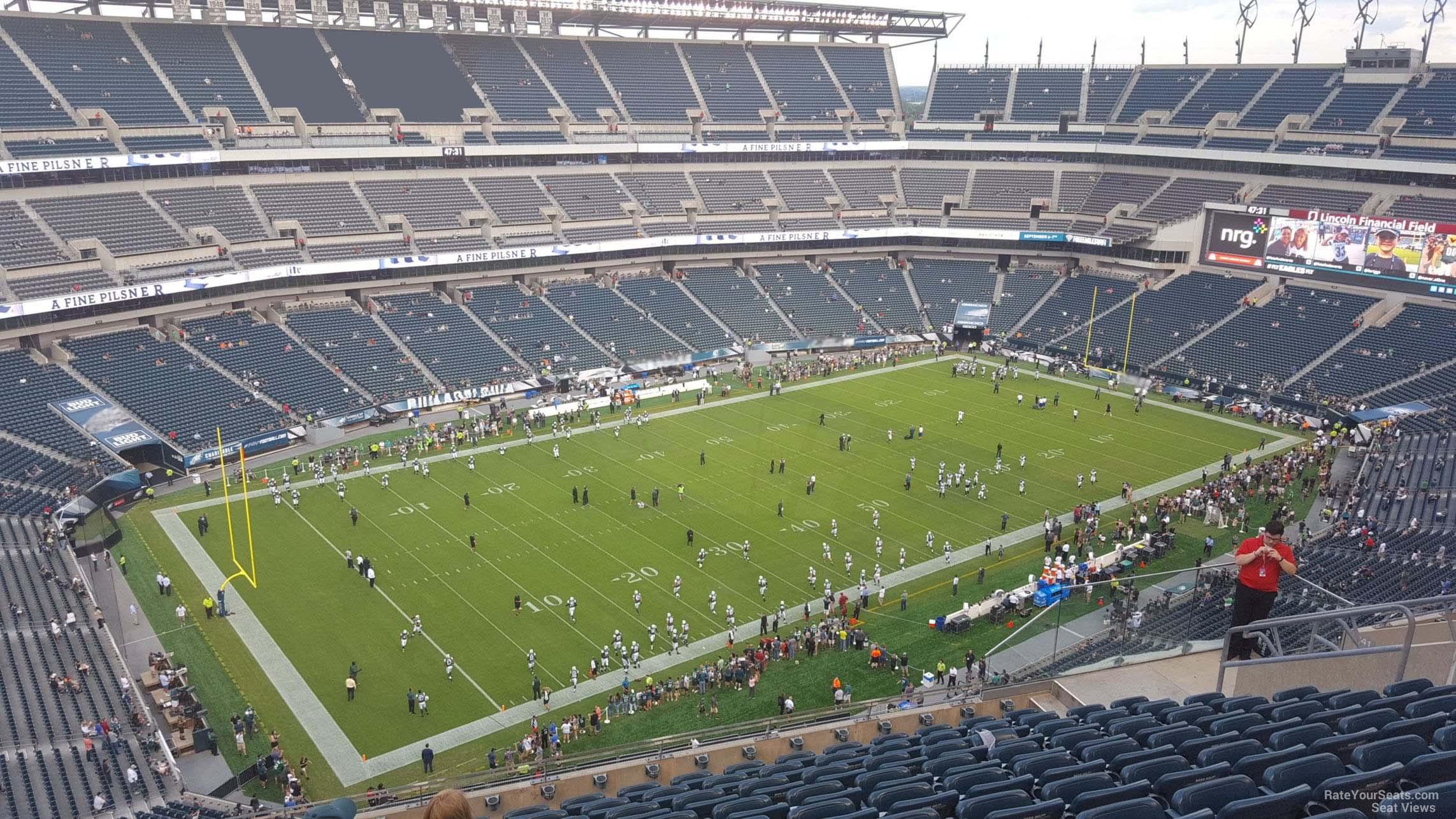 Lincoln Financial Field Section 240 Philadelphia Eagles
