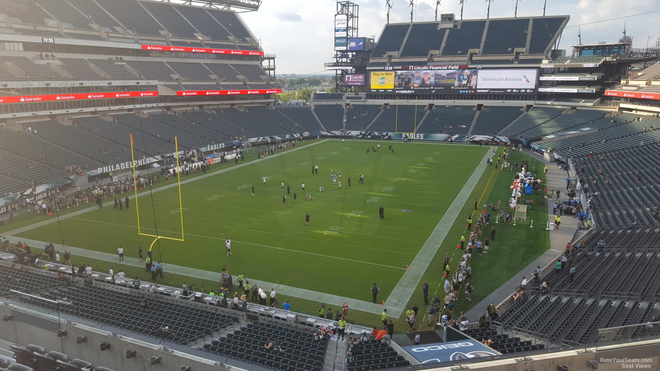 Lincoln Financial Field Section M13 Philadelphia Eagles