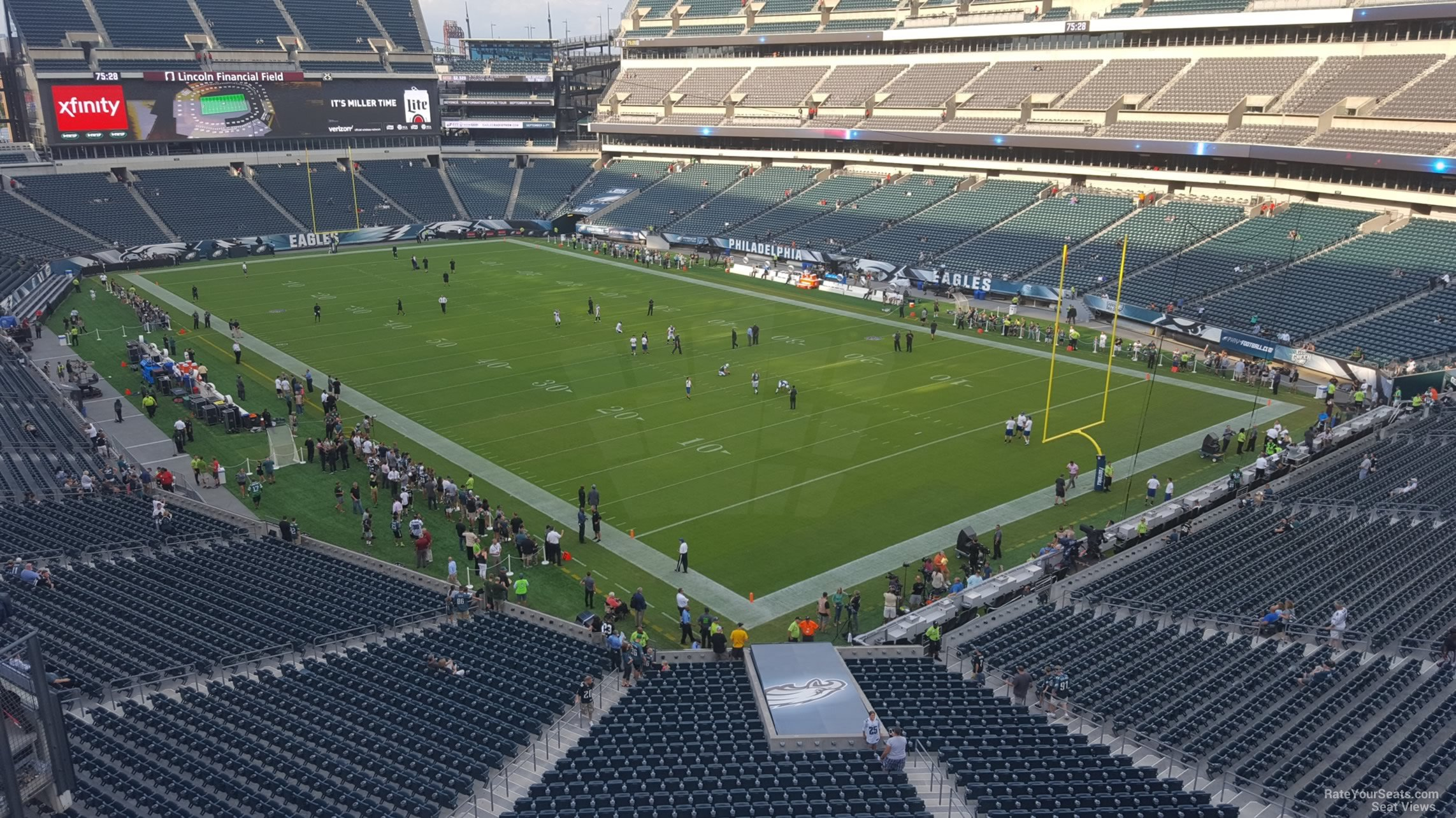 Lincoln Financial Field Section M7 Philadelphia Eagles