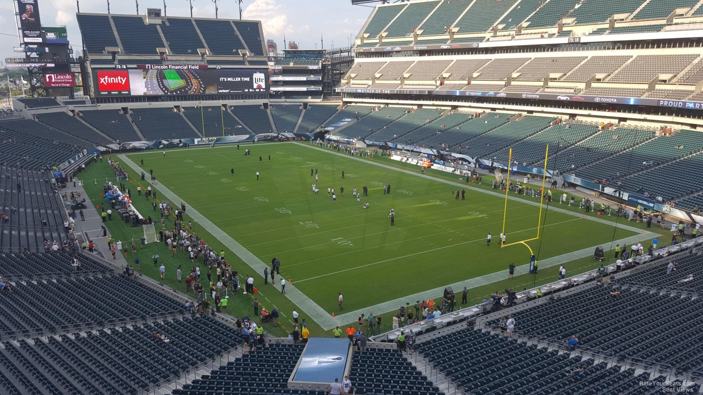 Lincoln Financial Field Section M8 Philadelphia Eagles