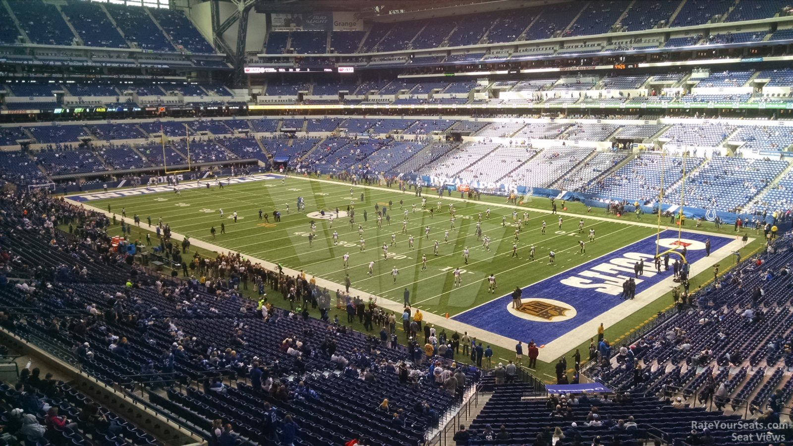 Lucas Oil Stadium Section 306 Indianapolis Colts
