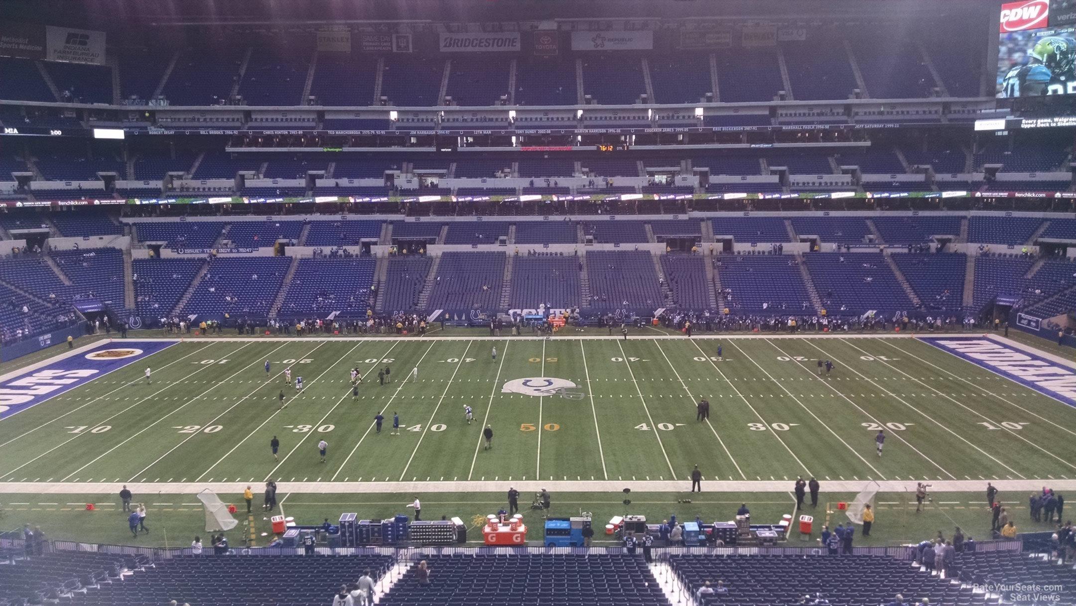 Lucas Oil Stadium Seating Chart Rows Big Ten Football