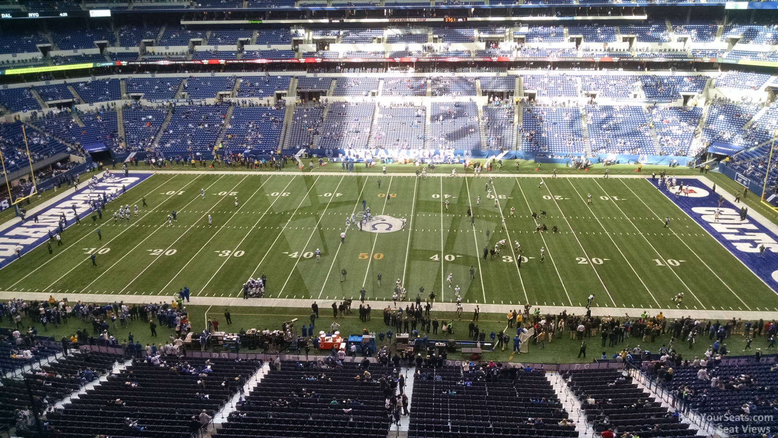 Lucas Oil Stadium Section 512 Indianapolis Colts