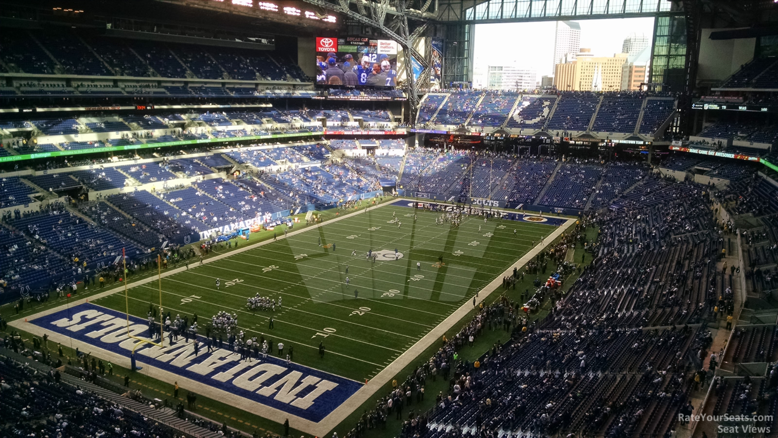 Lucas oil stadium section 522 indianapolis colts for Terrace end zone lucas oil stadium