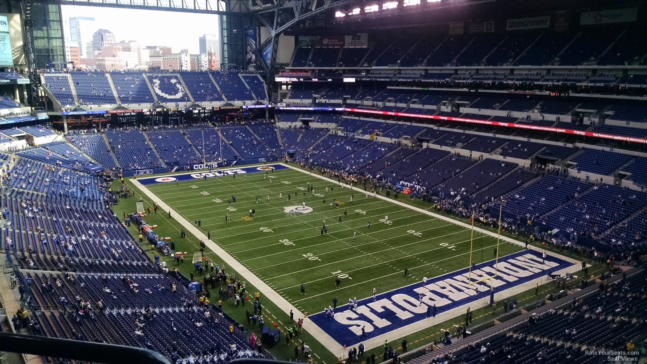 Lucas oil stadium section 531 indianapolis colts for Terrace end zone lucas oil stadium