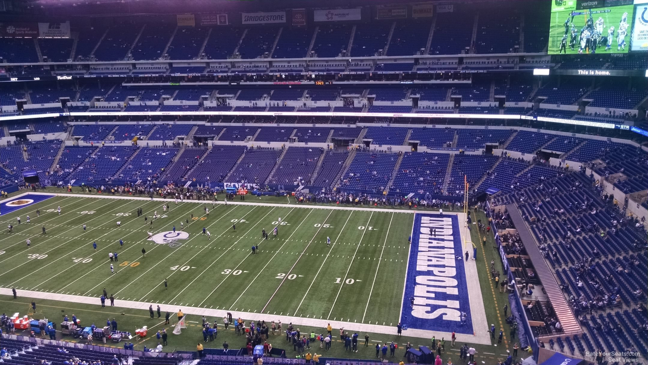 Lucas Oil Stadium Section 536 Indianapolis Colts
