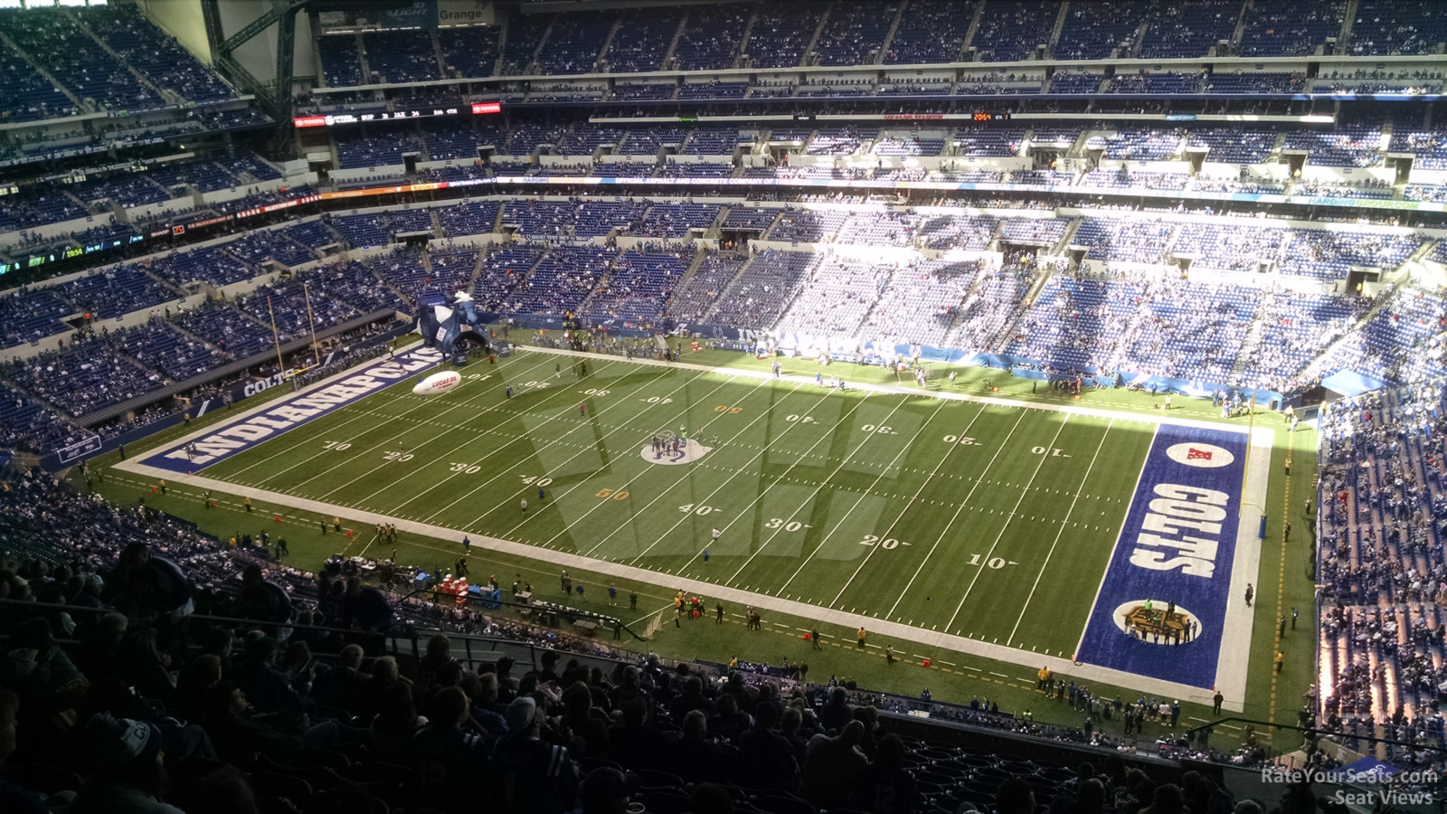 Lucas Oil Stadium Section 609 Indianapolis Colts