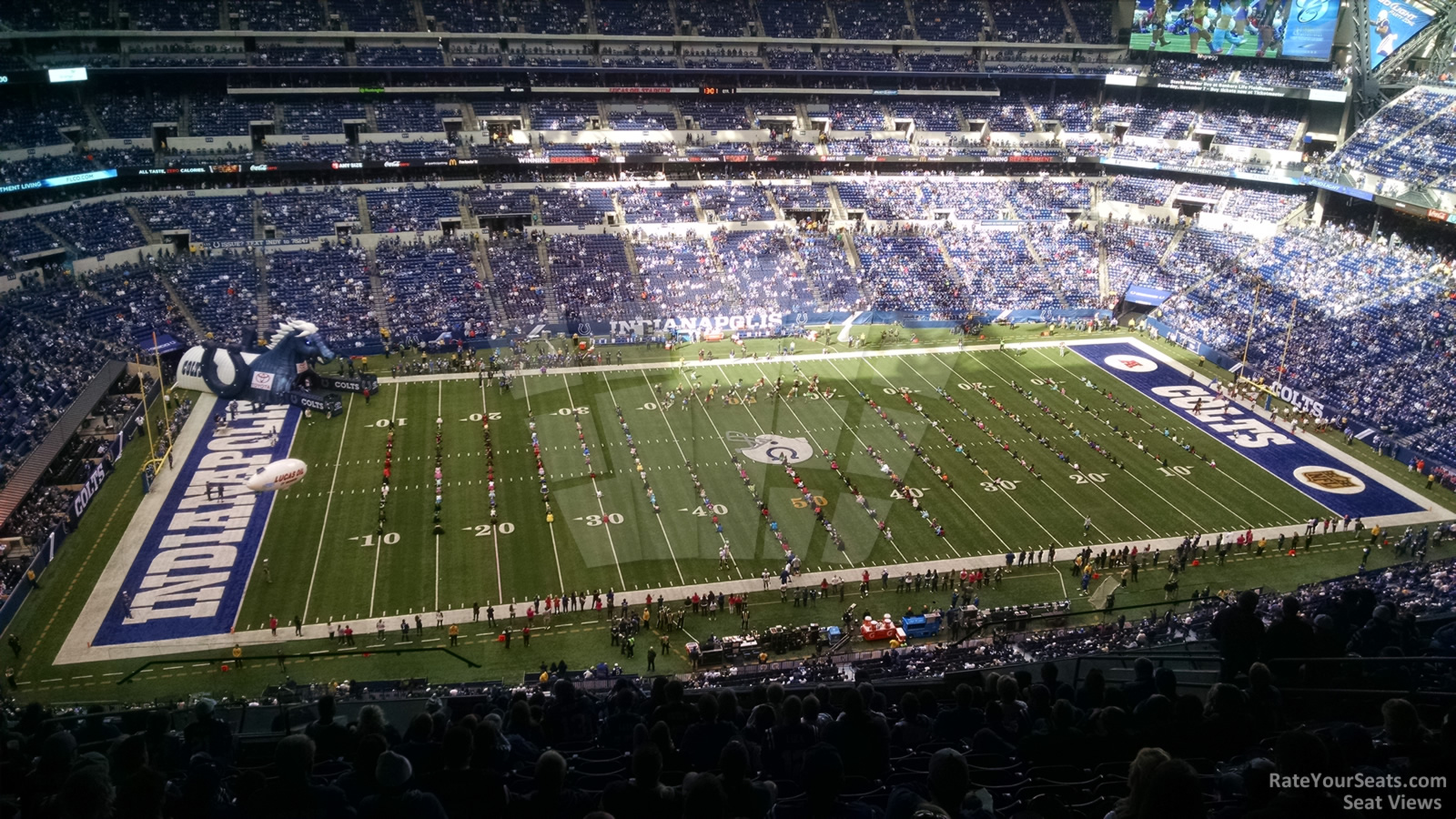 Lucas oil stadium section 615 indianapolis colts for Terrace end zone lucas oil stadium