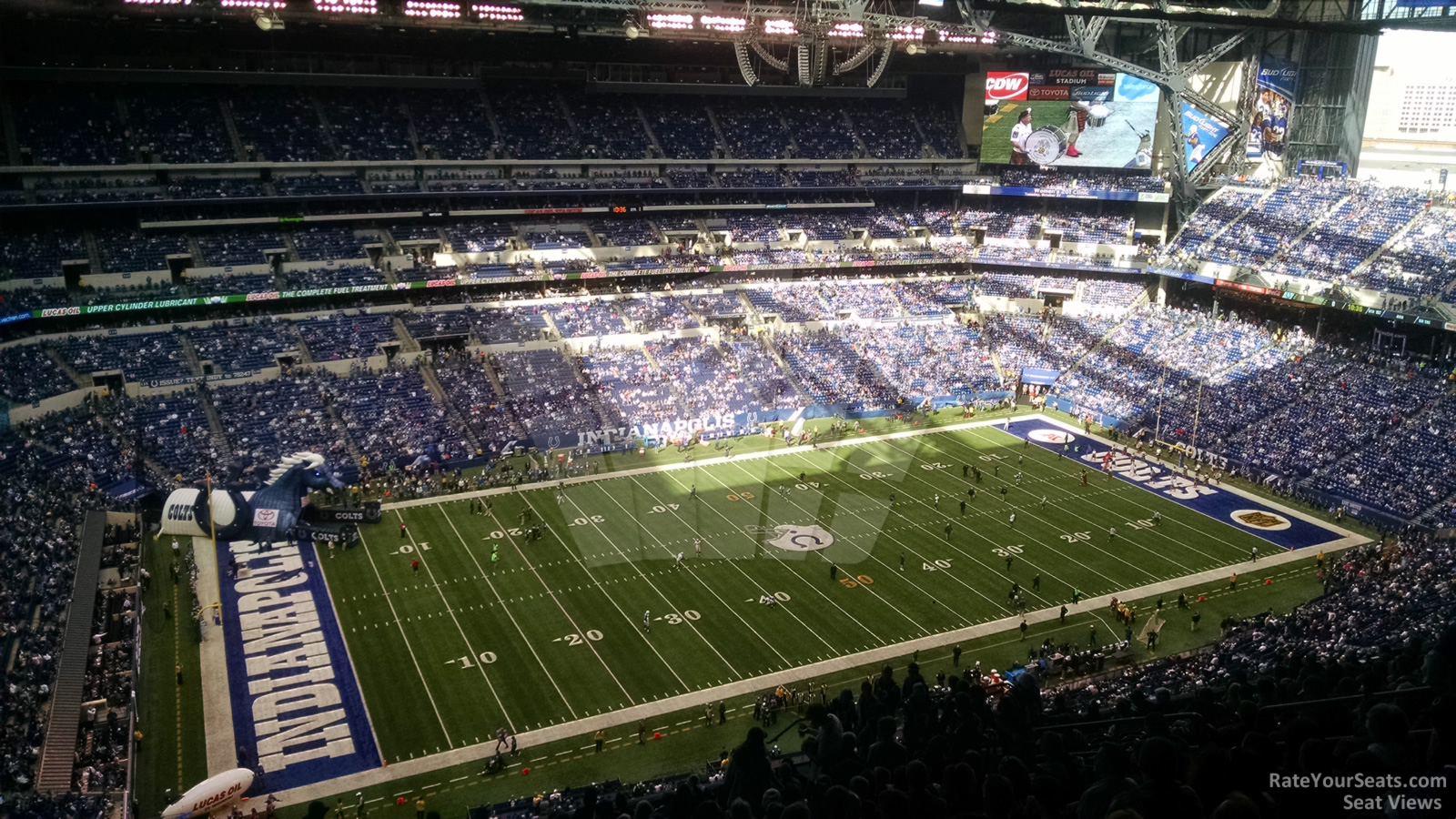 Lucas oil stadium section 617 indianapolis colts for Terrace end zone lucas oil stadium