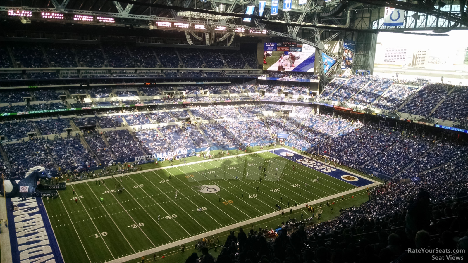 Lucas Oil Stadium Section 617 Indianapolis Colts