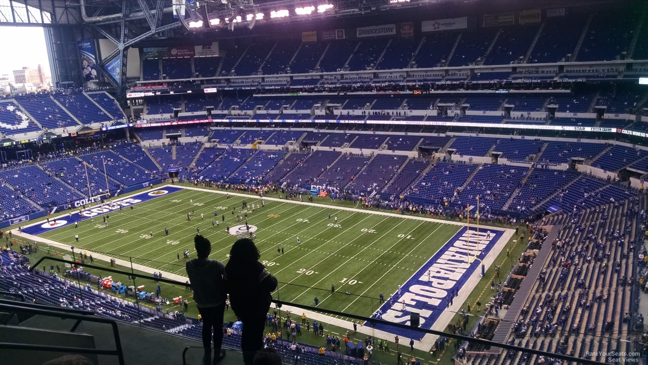 Lucas Oil Stadium Section 634 Indianapolis Colts