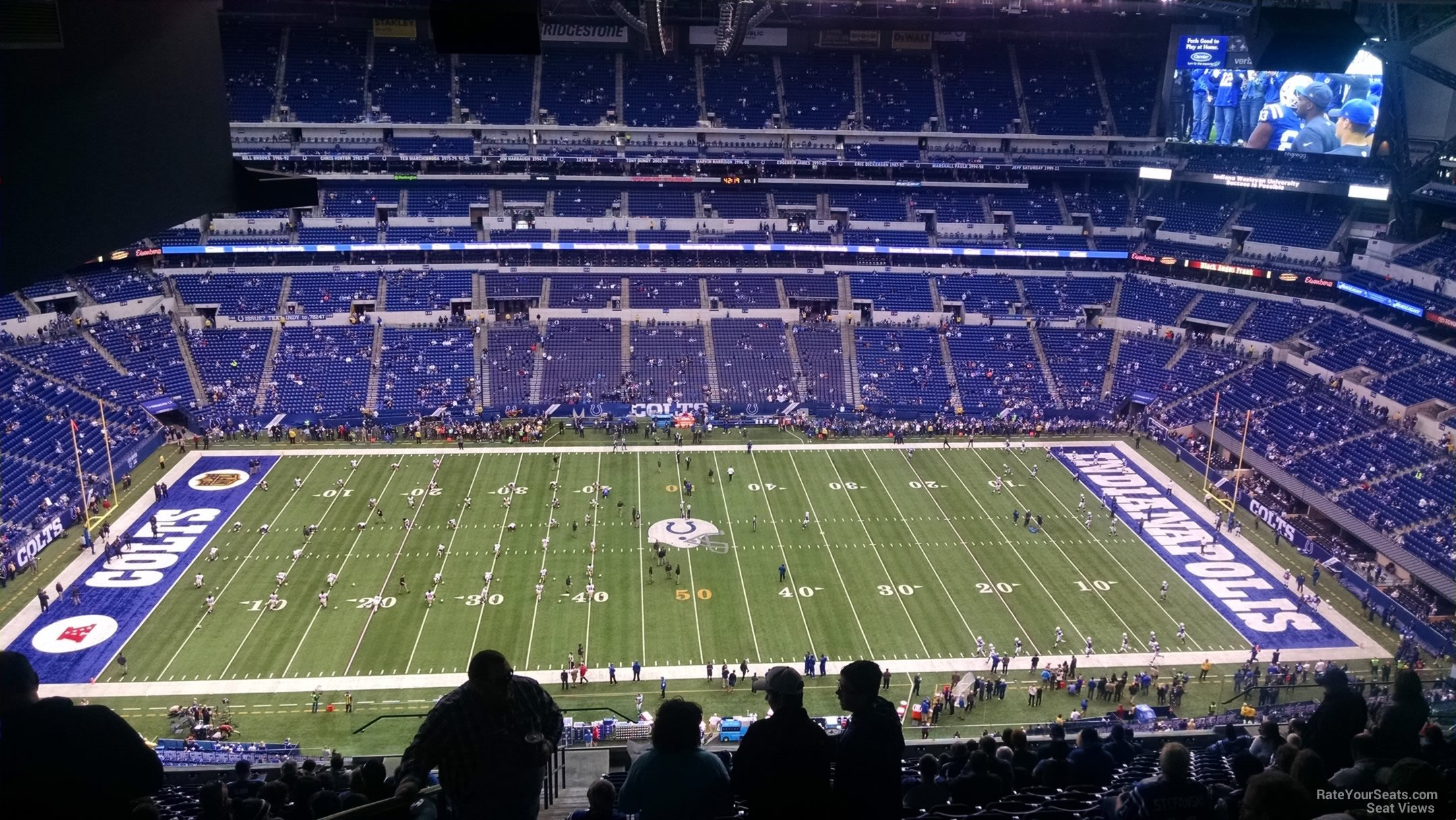 lucas oil stadium section 640 indianapolis colts On terrace end zone lucas oil stadium
