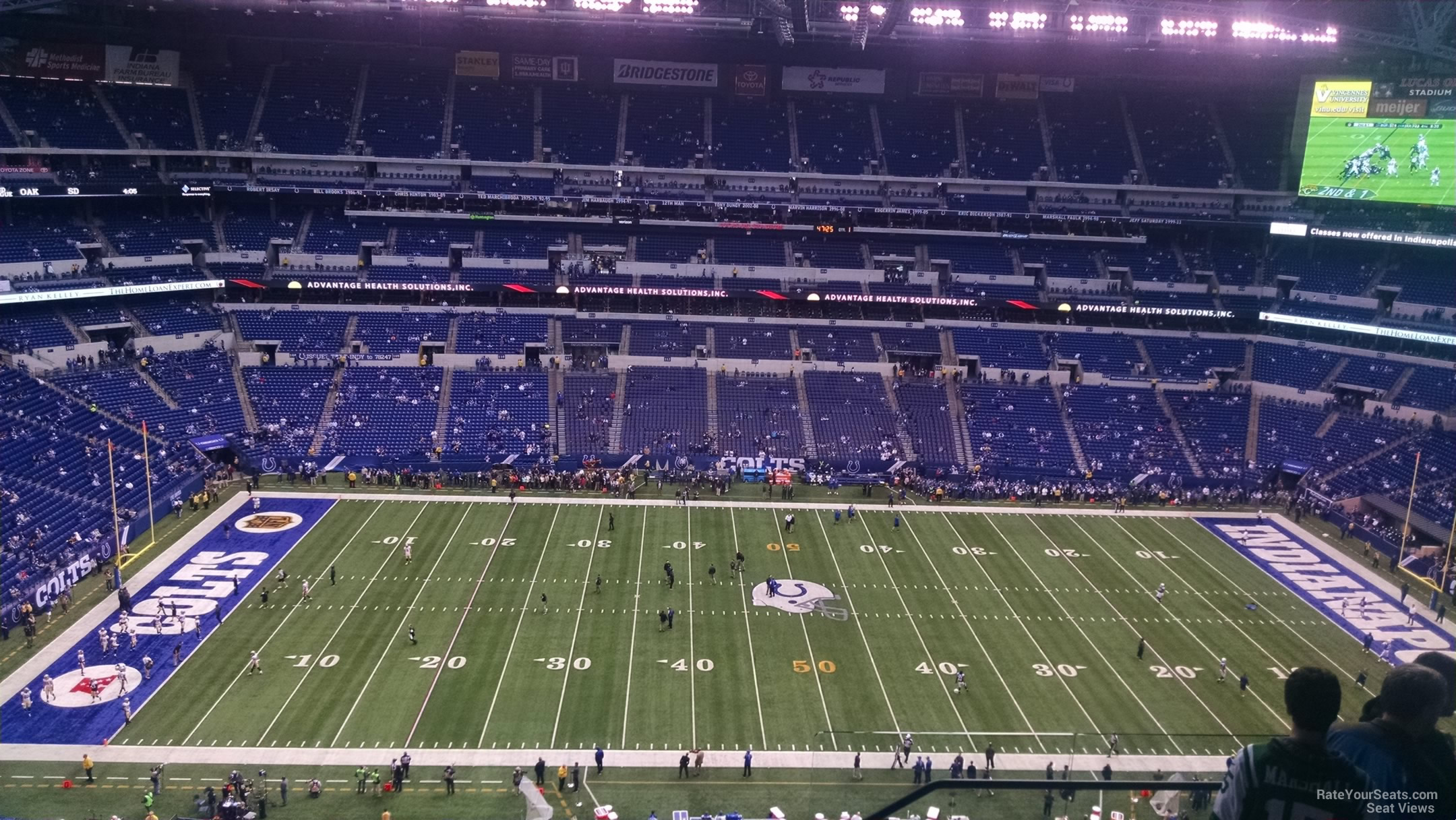 Lucas oil stadium section 641 indianapolis colts for Terrace end zone lucas oil stadium