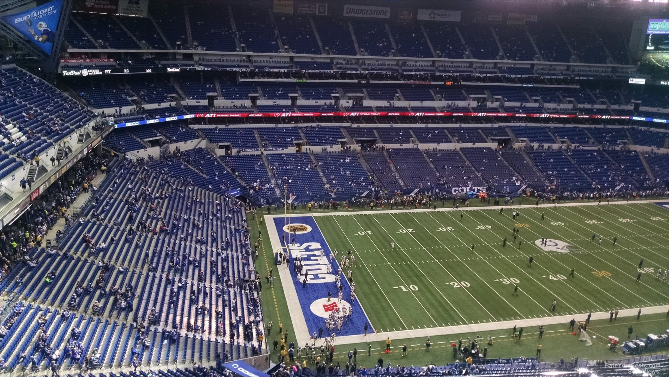 Lucas Oil Stadium Section 645 Indianapolis Colts