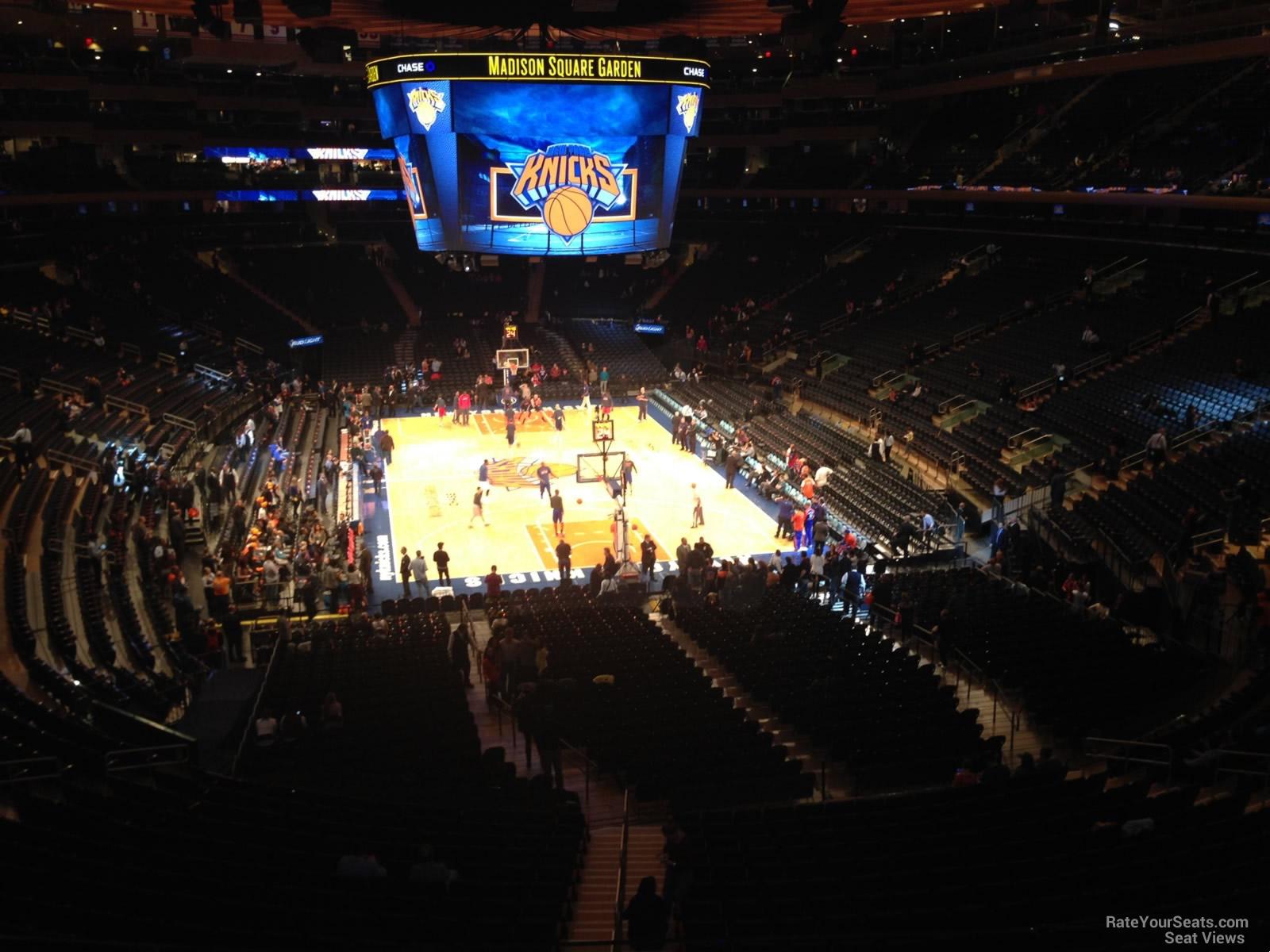 Madison Square Garden Section 217 New York Knicks
