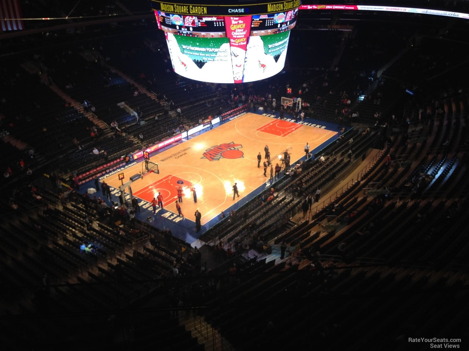 Madison Square Garden Section 323 New York Knicks