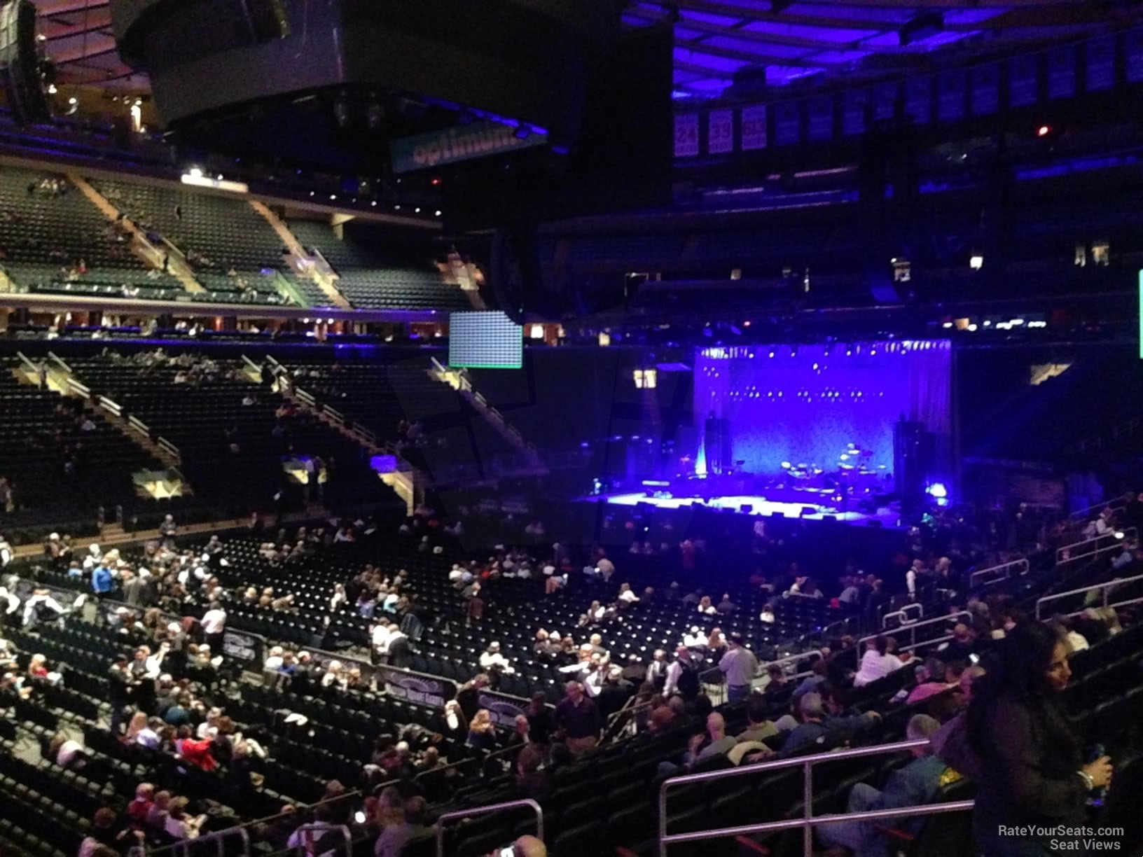 Madison Square Garden Section 105 Concert Seating