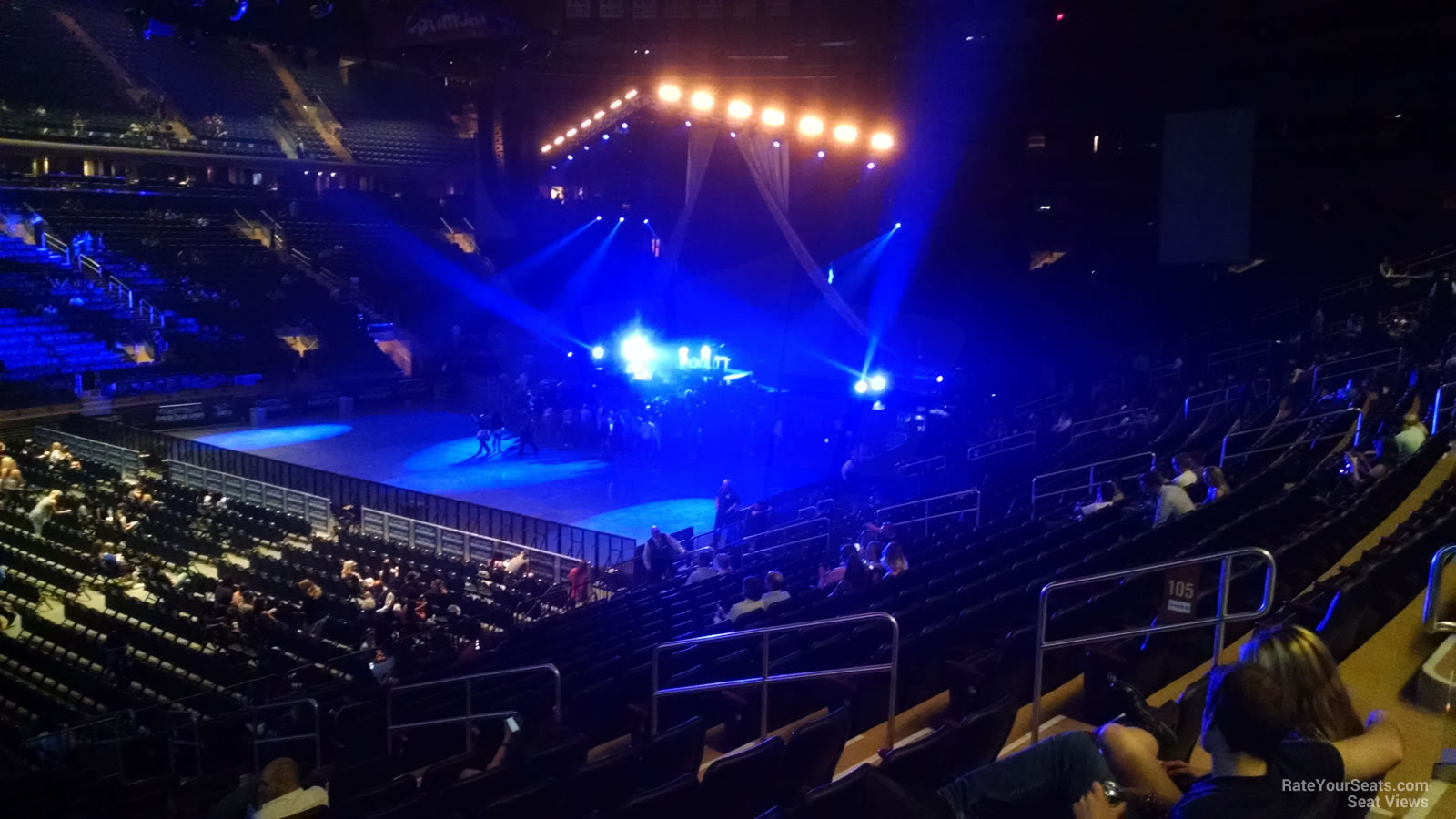 Madison square garden section 105 concert seating - Bruno mars tickets madison square garden ...