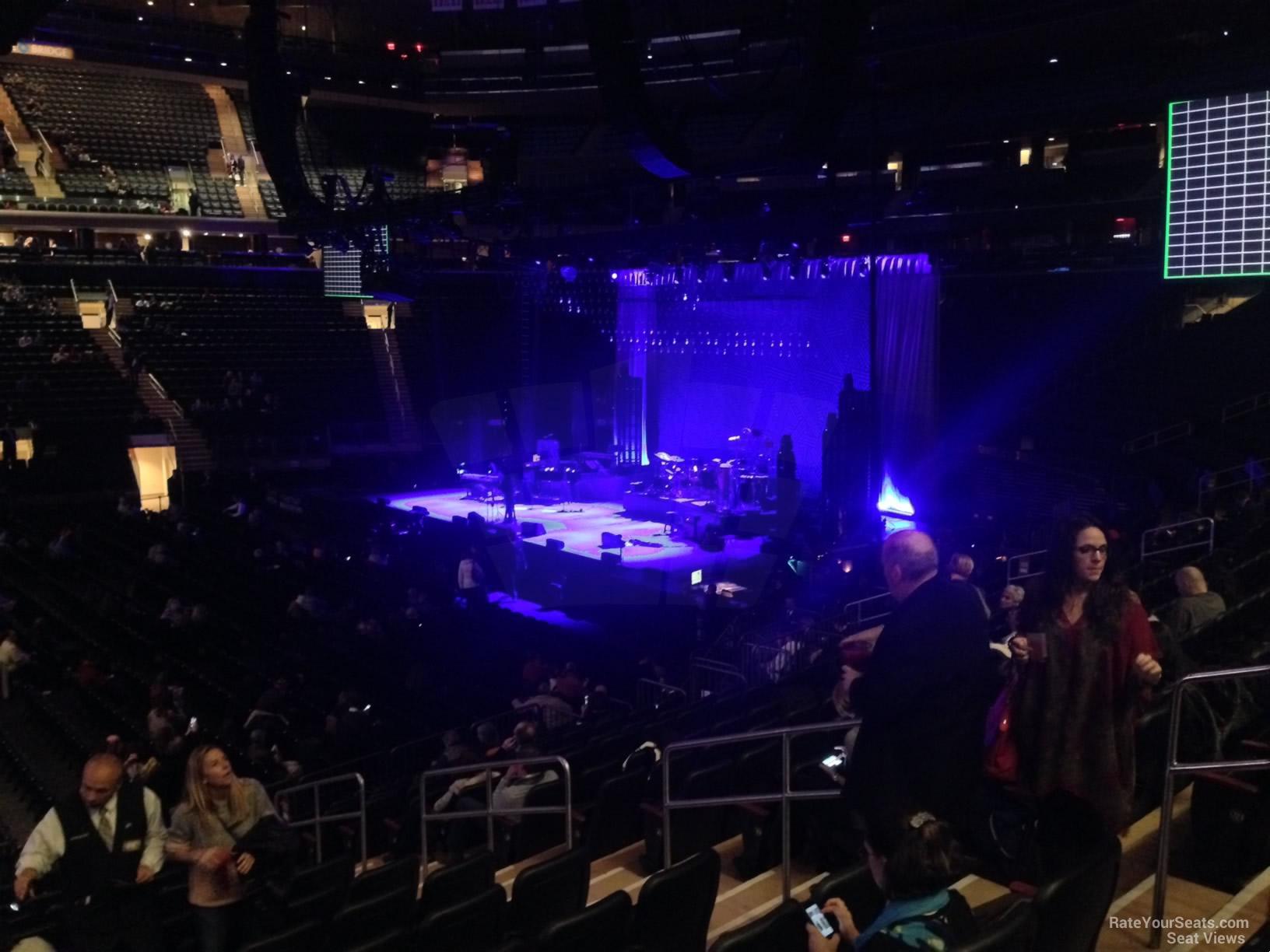 100 Level Side Madison Square Garden Concert Seating
