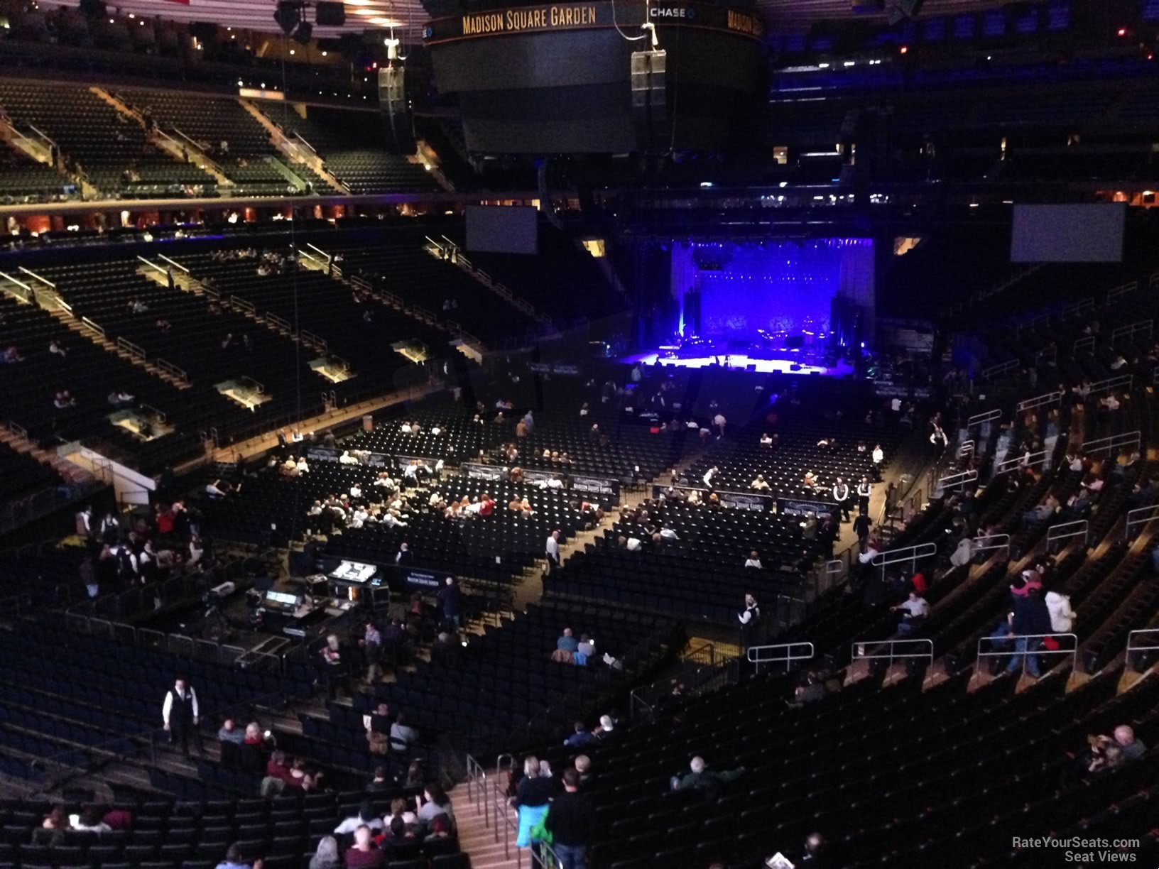 Madison Square Garden Section 206 Concert Seating