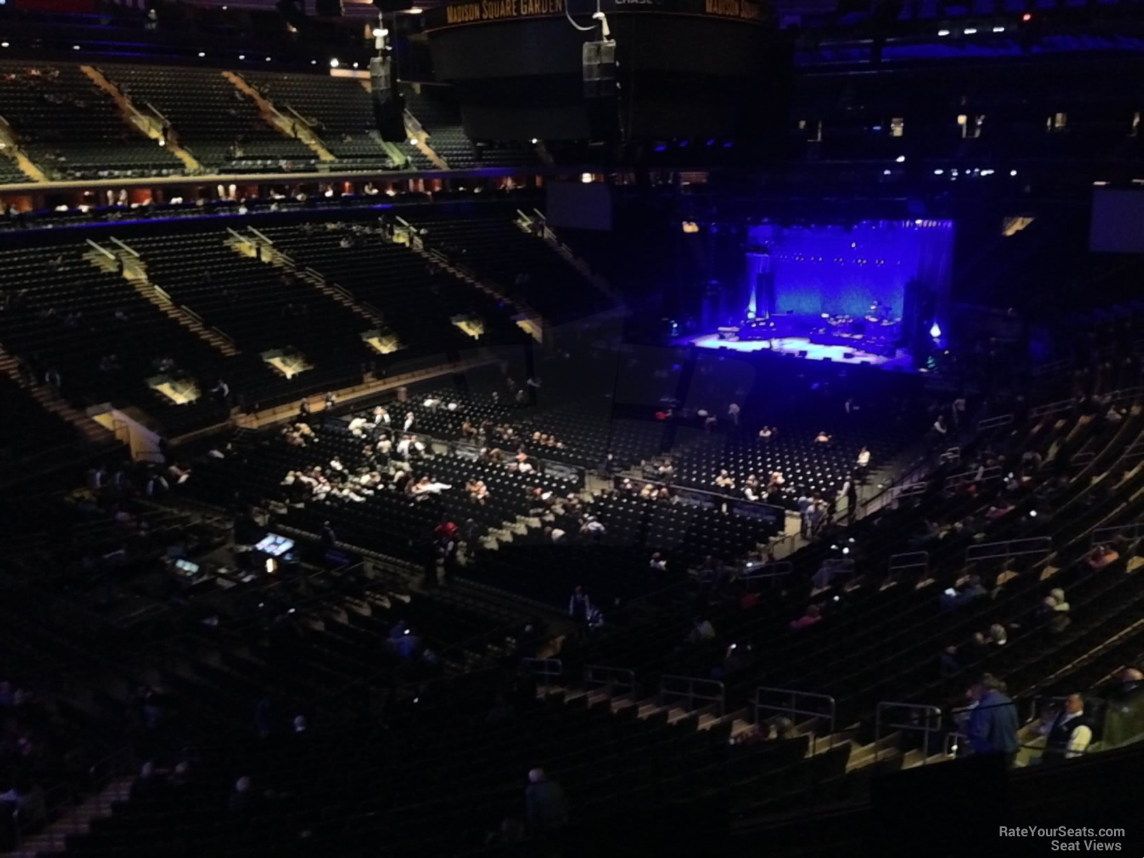 Madison Square Garden Section 207 Concert Seating