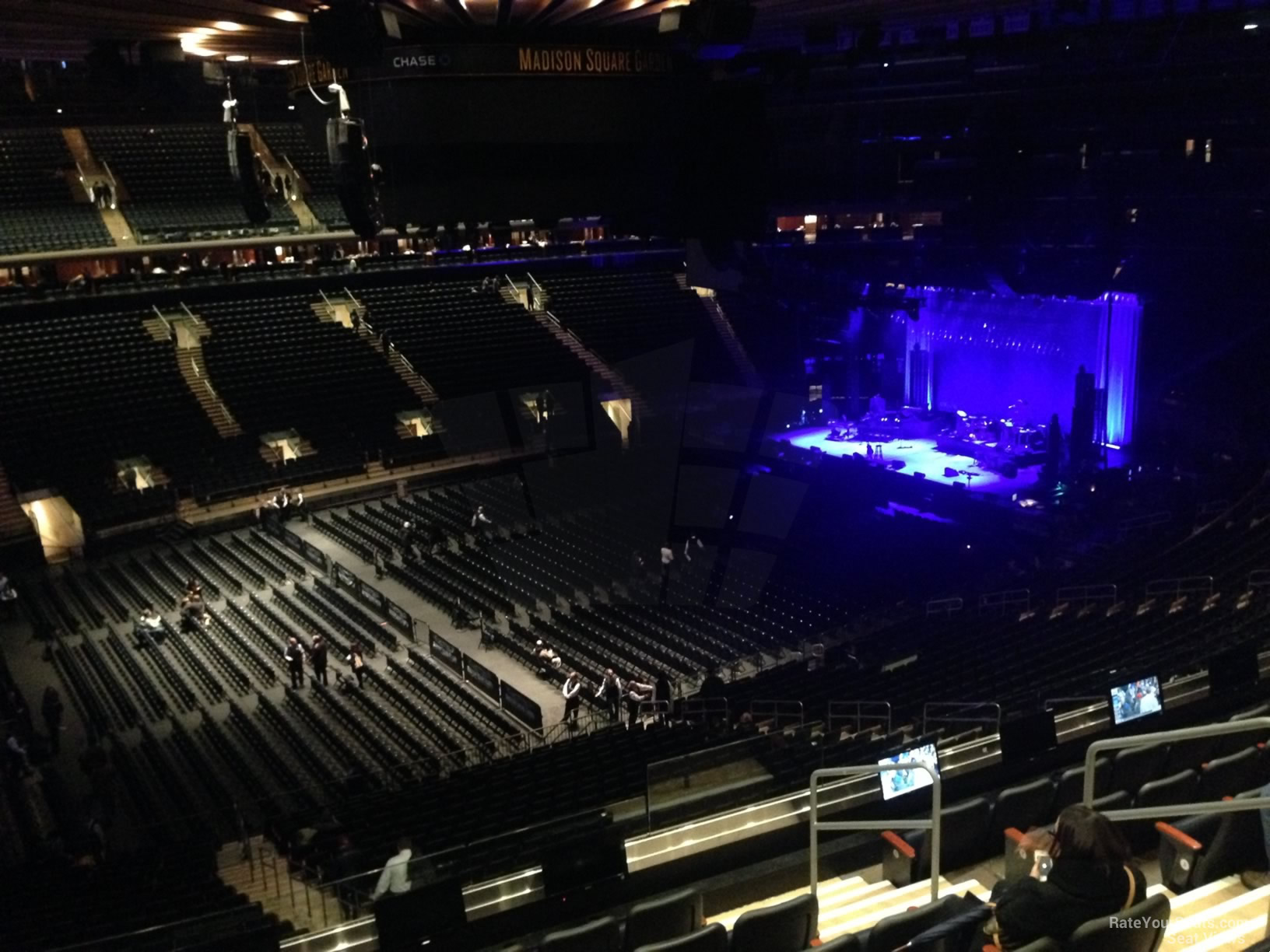 Madison Square Garden Section 209 Concert Seating ...
