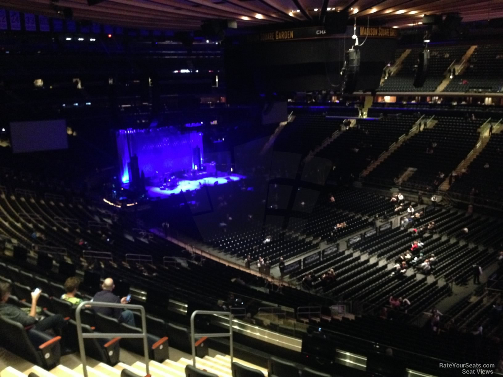 200 Level Corner Madison Square Garden Concert Seating