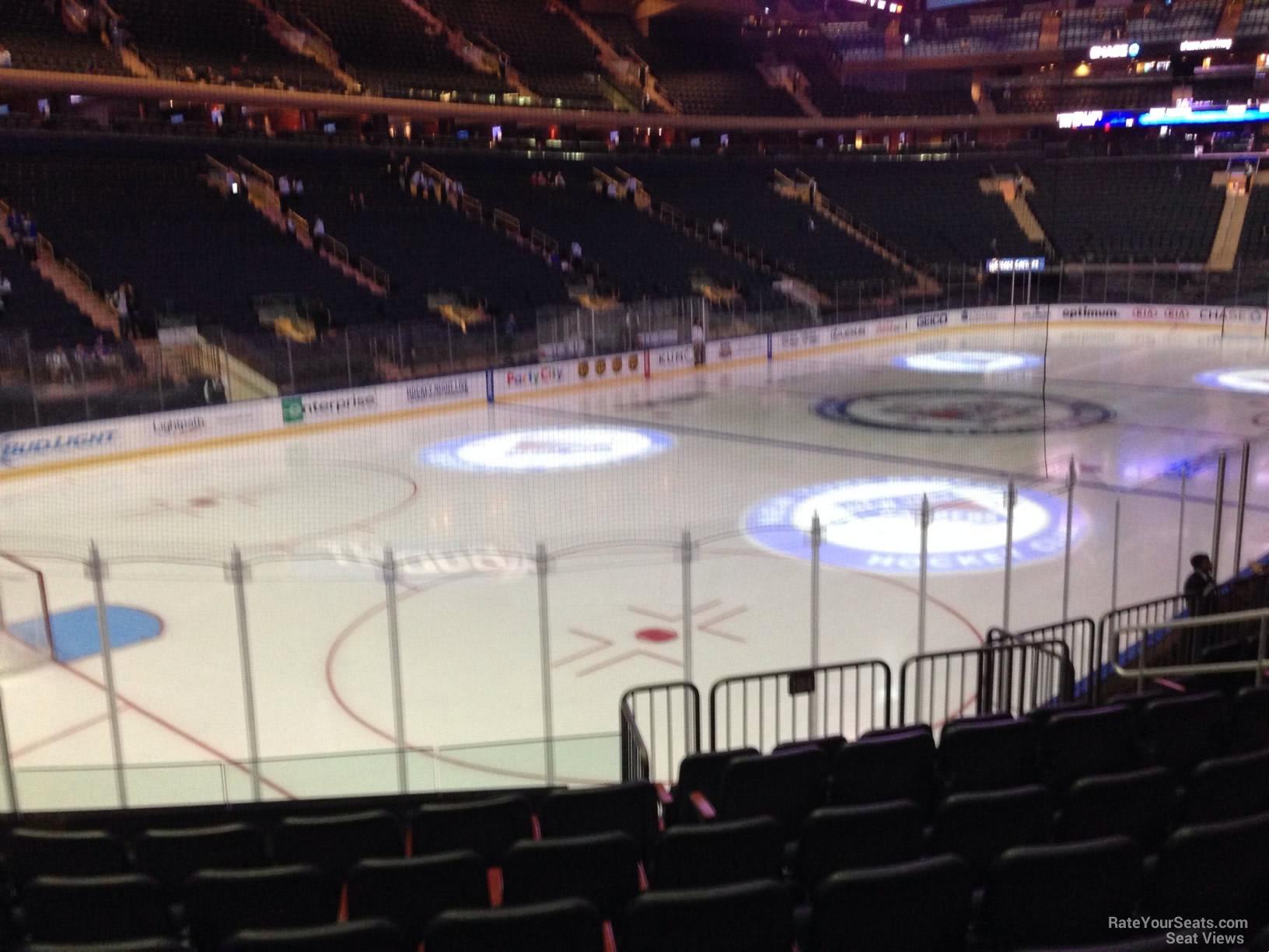 New York Rangers Madison Square Garden Section 104