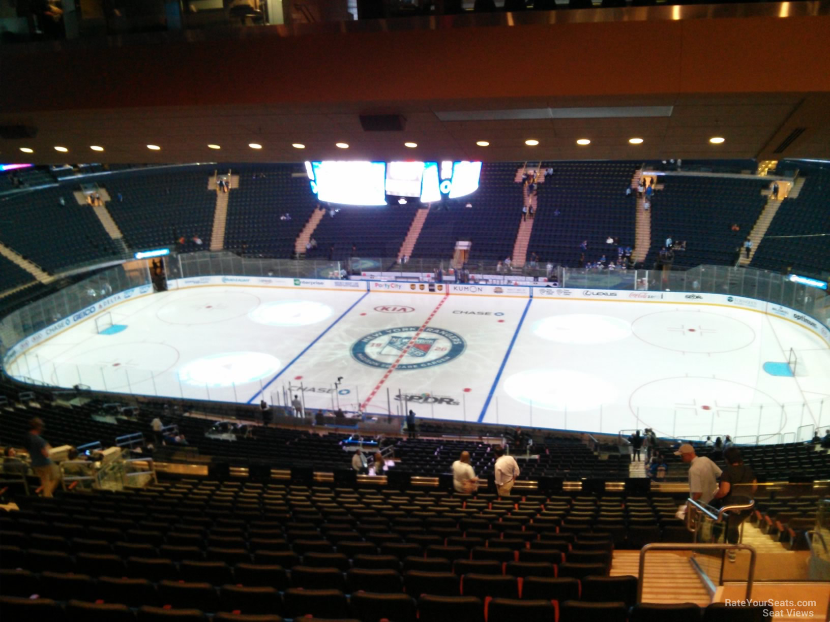 Madison Square Garden Section 225 New York Rangers