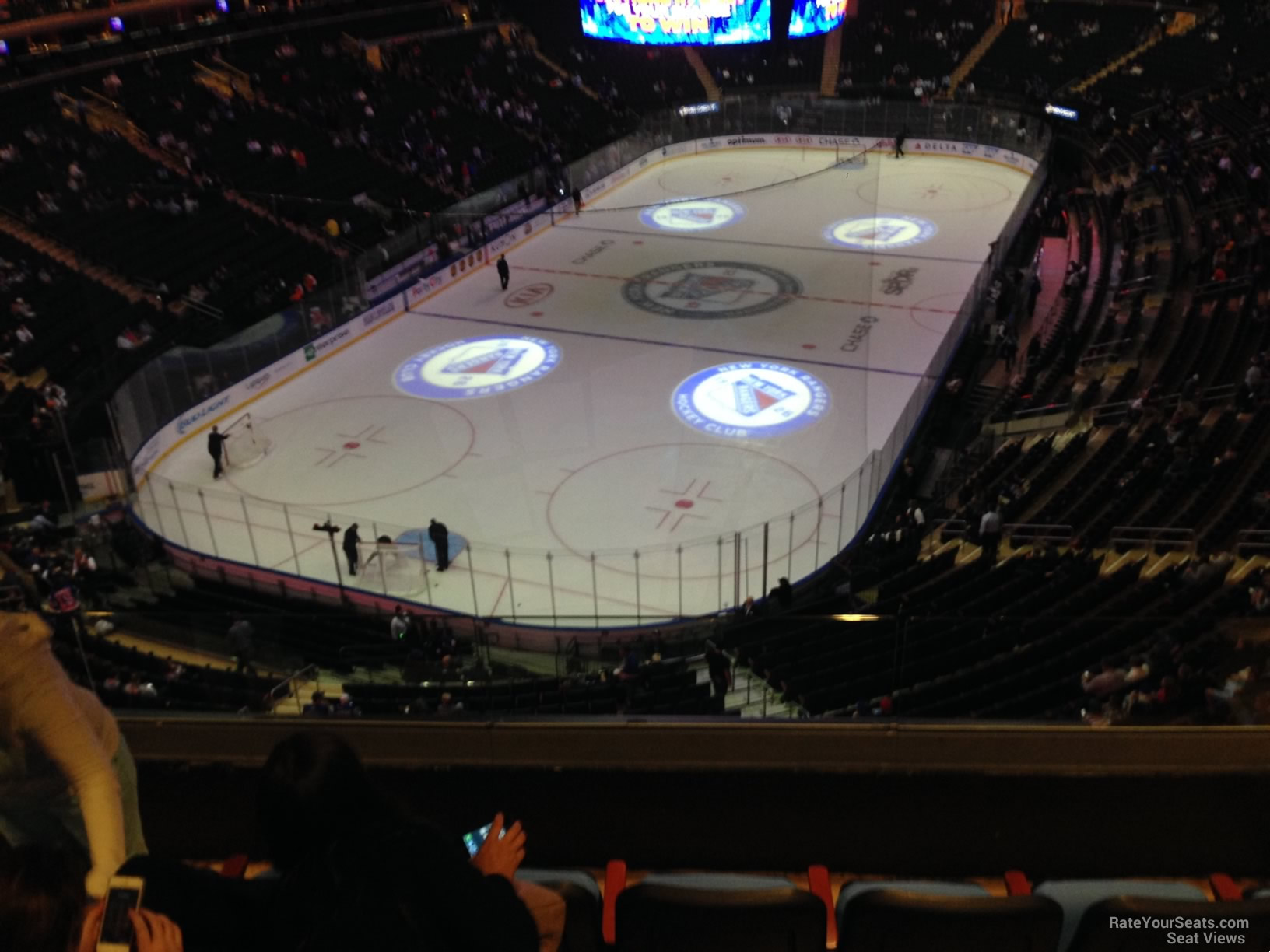 Madison Square Garden Section 419 New York Rangers