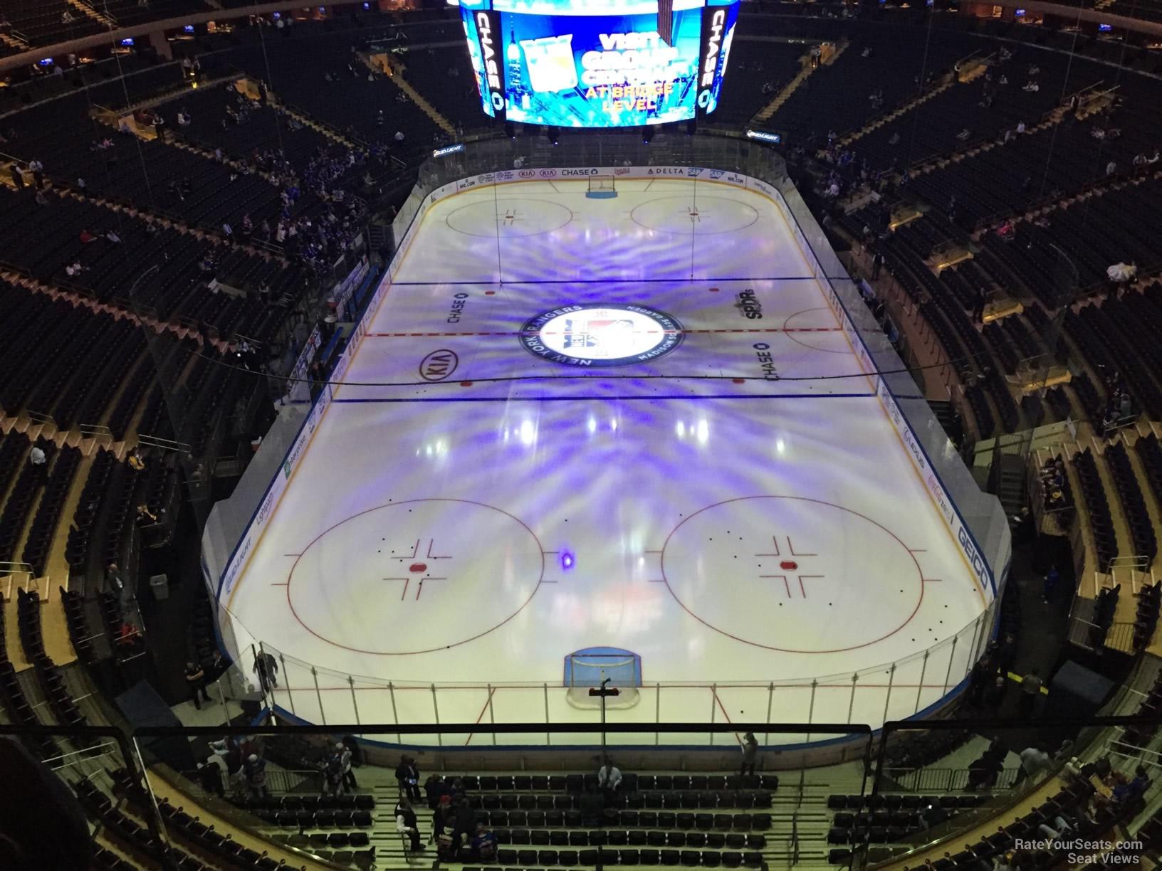 Madison Square Garden Section 320 New York Rangers