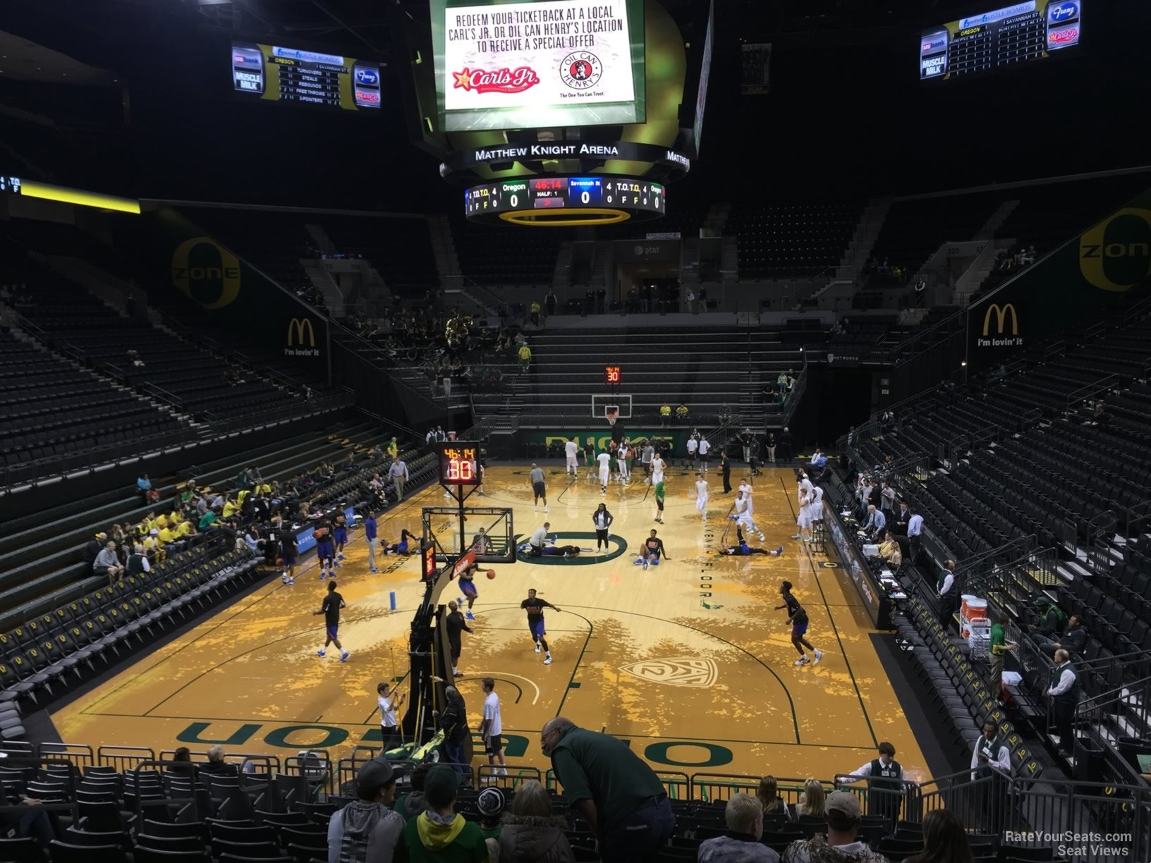 Matthew Knight Arena Section 107 Rateyourseats Com