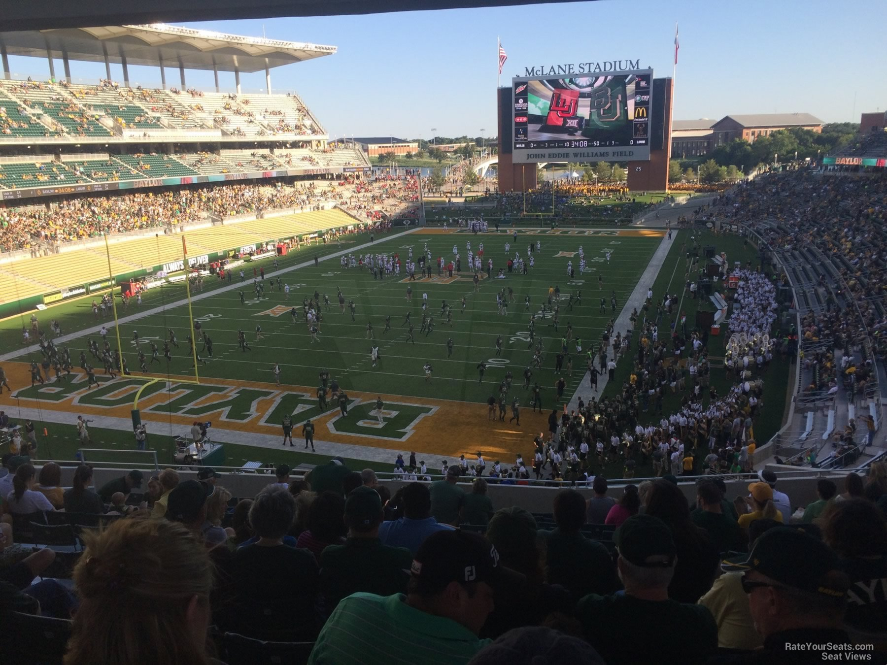 Mclane Stadium Section 214 Rateyourseats Com