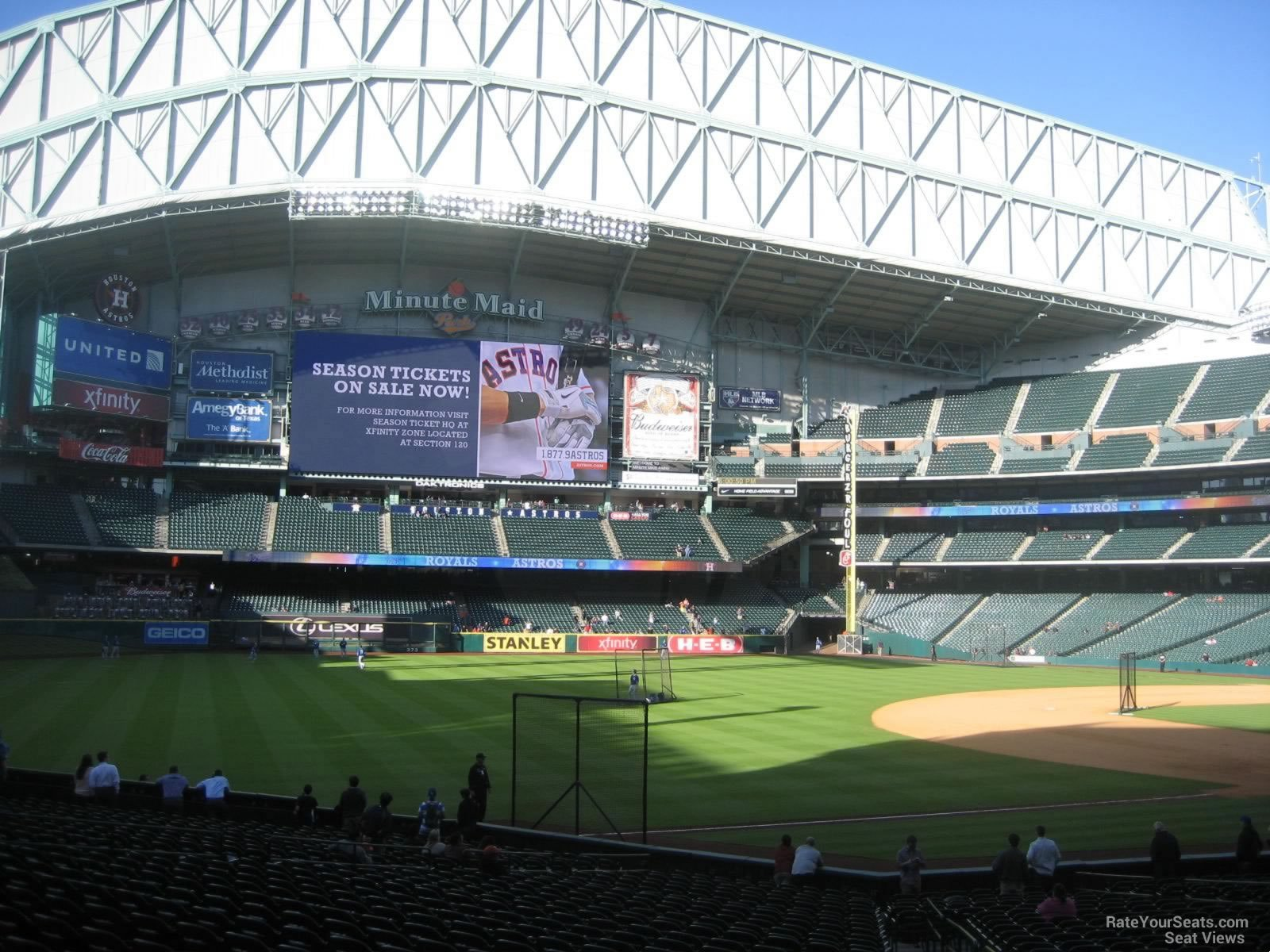 Minute Maid Park Section 108 Houston Astros