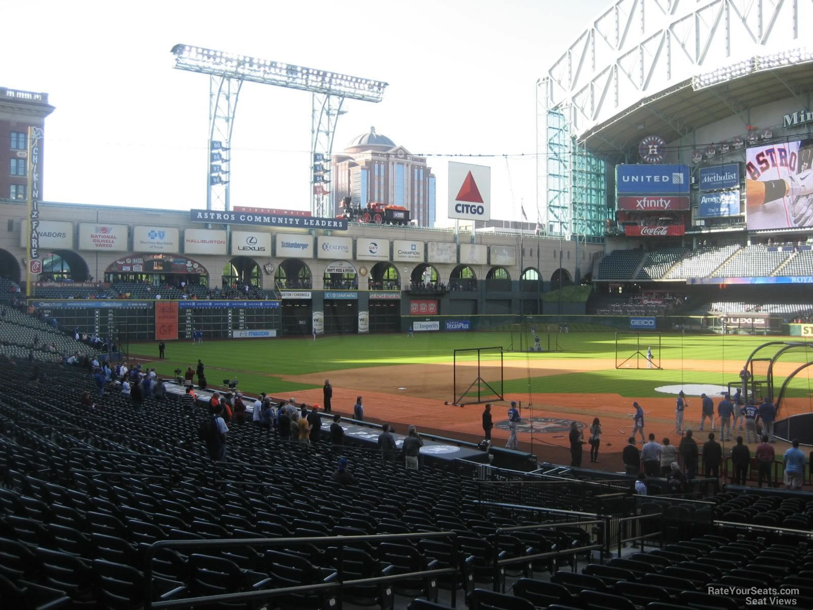 Minute Maid Park Section 118 Houston Astros