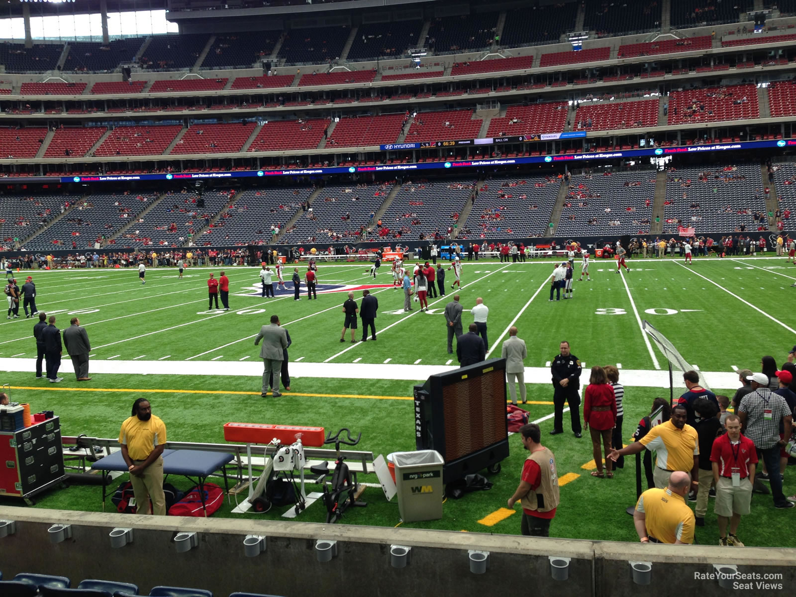 Nrg Stadium Section 105 Houston Texans Rateyourseats Com