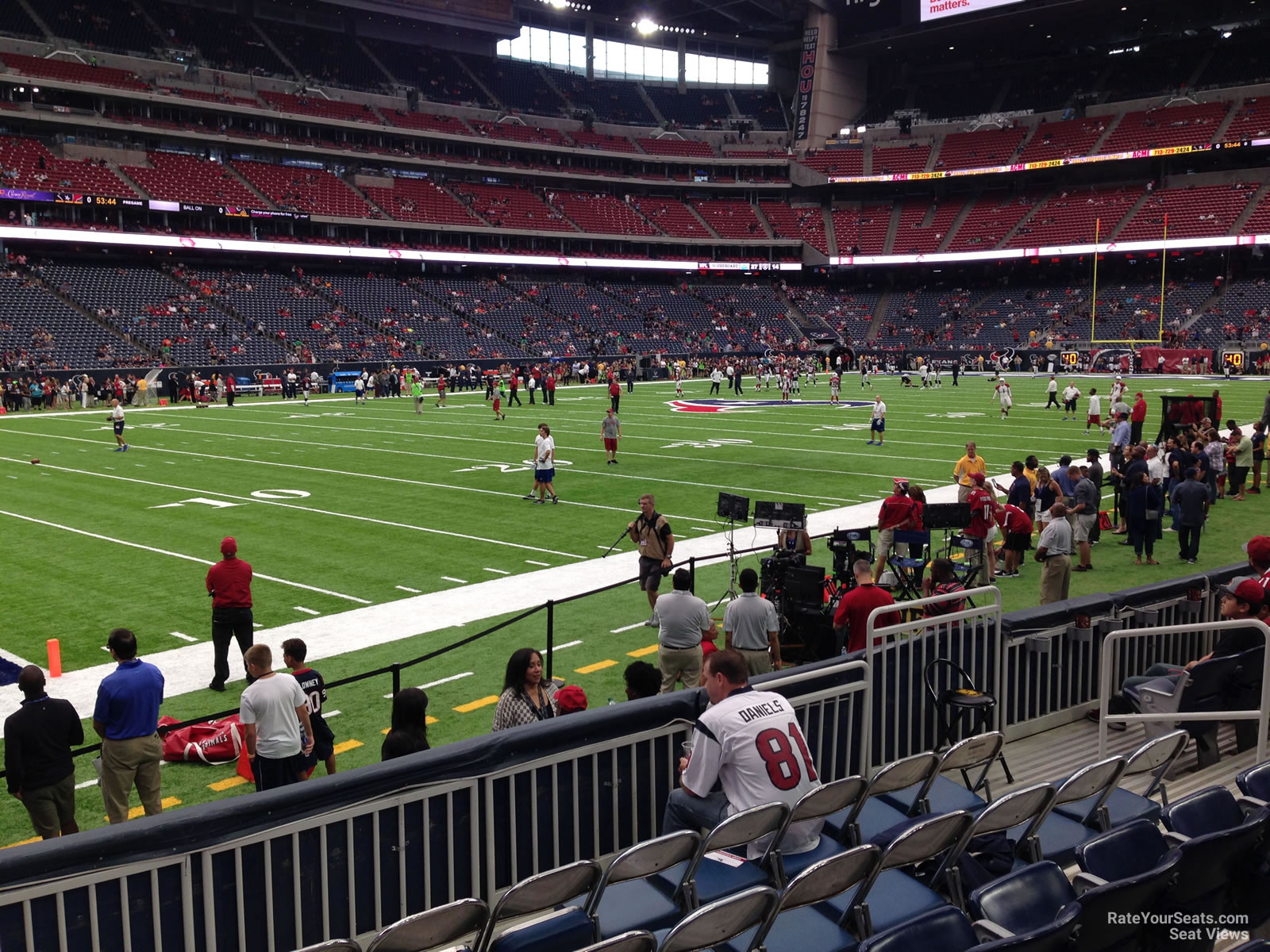 Nrg Stadium Section 131 Houston Texans Rateyourseats Com