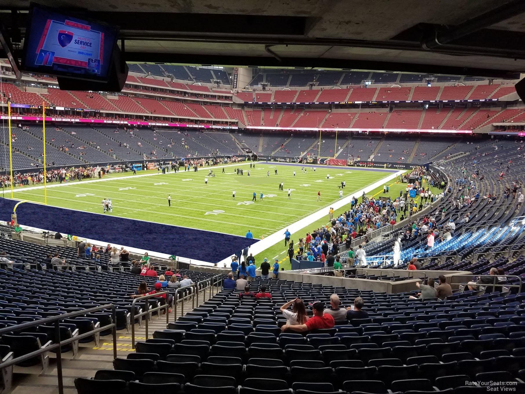 Nrg Stadium Section 133 Houston Texans Rateyourseats Com