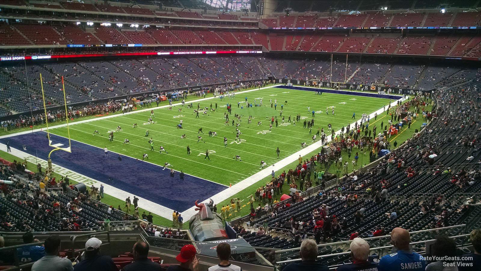 West Houston Vw >> NRG Stadium Section 317 - Houston Texans - RateYourSeats.com