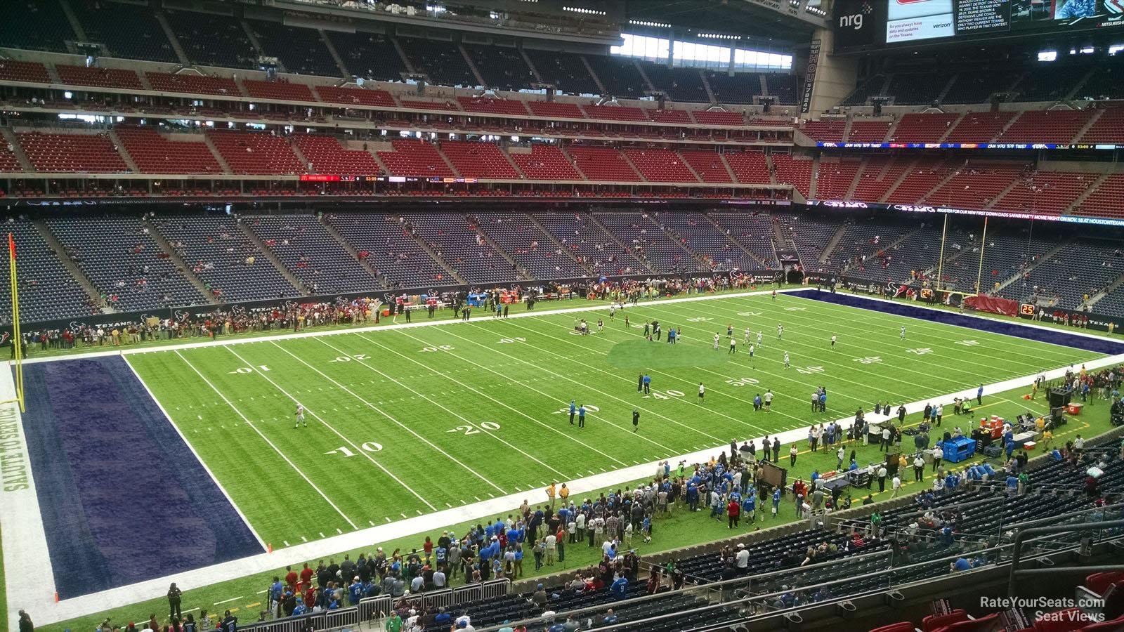 Nrg Stadium Section 342 Houston Texans Rateyourseats Com