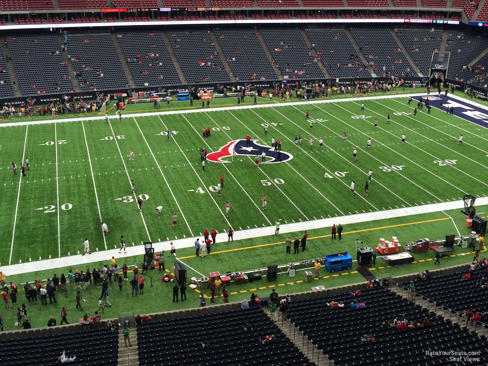 Nrg Stadium Section 536 Houston Texans Rateyourseats Com