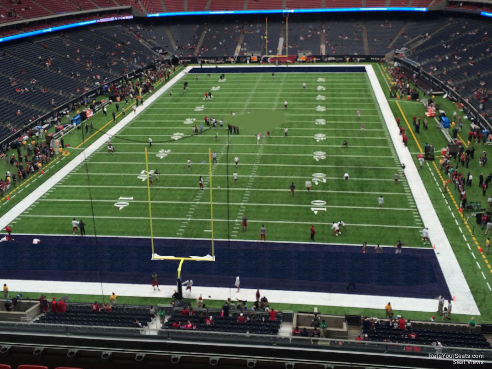 Nrg Stadium Section 546 Houston Texans Rateyourseats Com