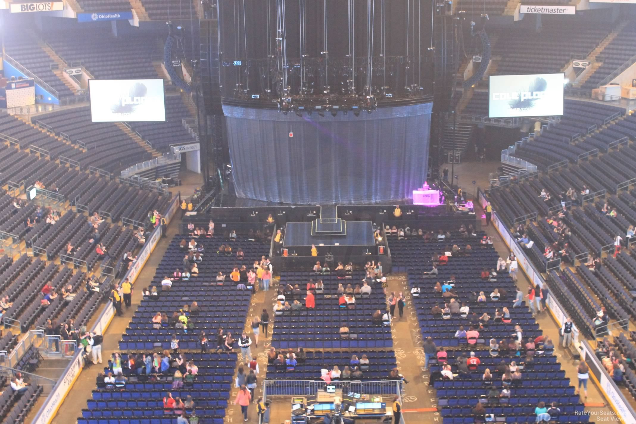 Nationwide Arena Section 211 Concert Seating