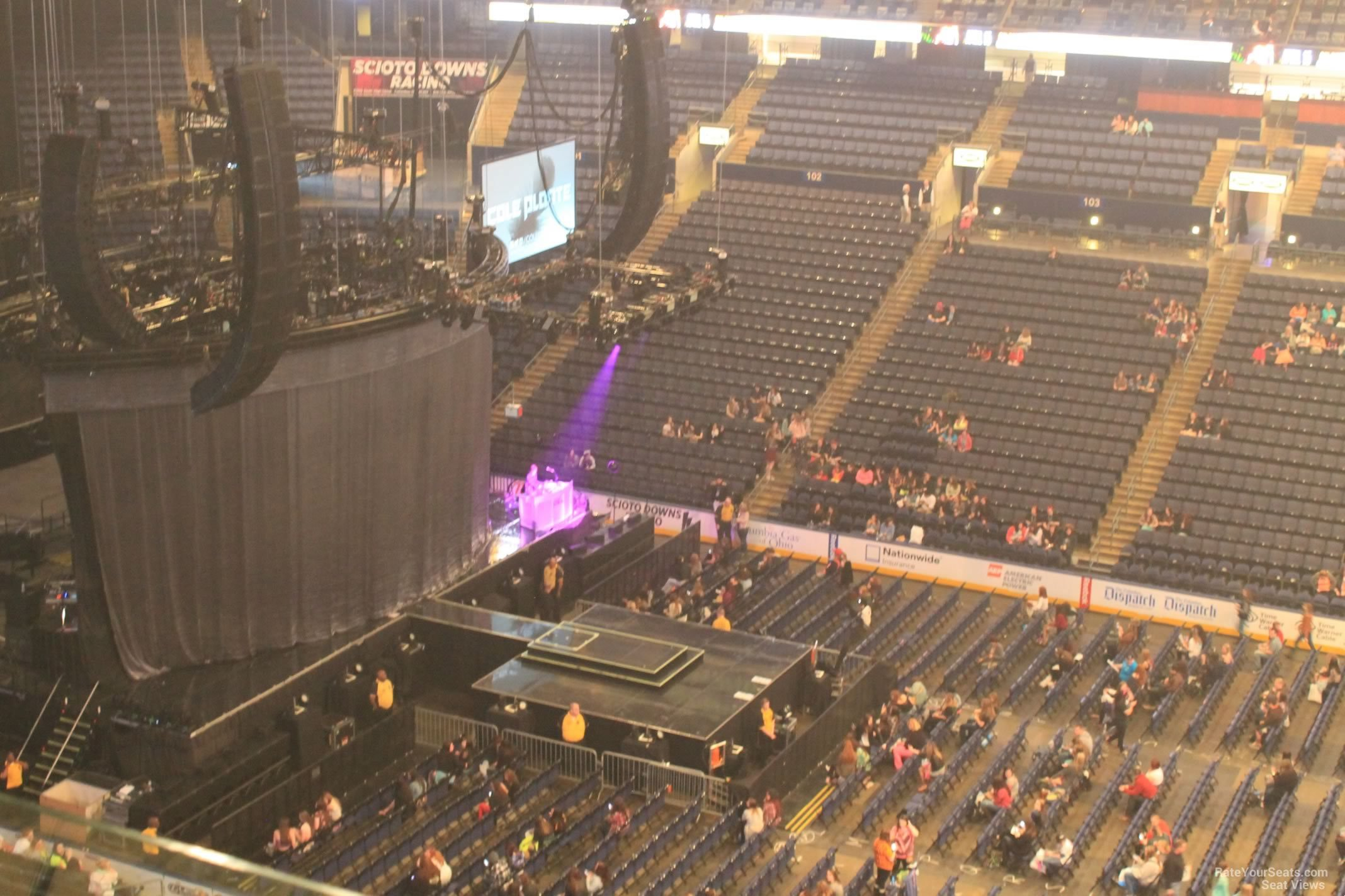 Nationwide Arena Section 217 Concert Seating