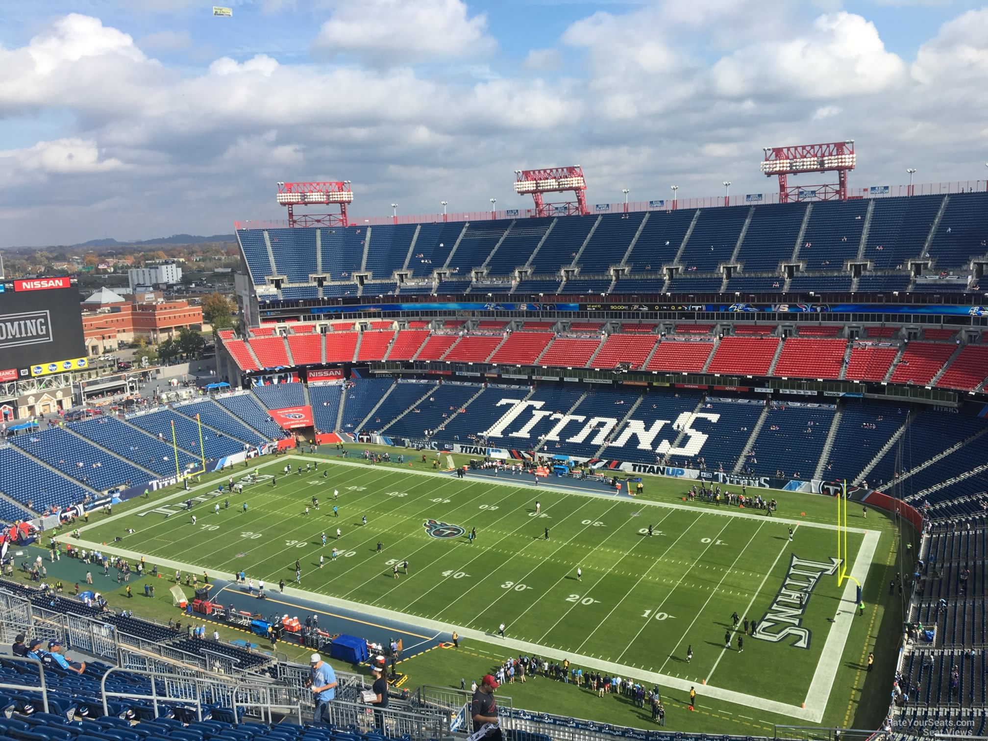 Nissan Stadium Section 330 Tennessee Titans