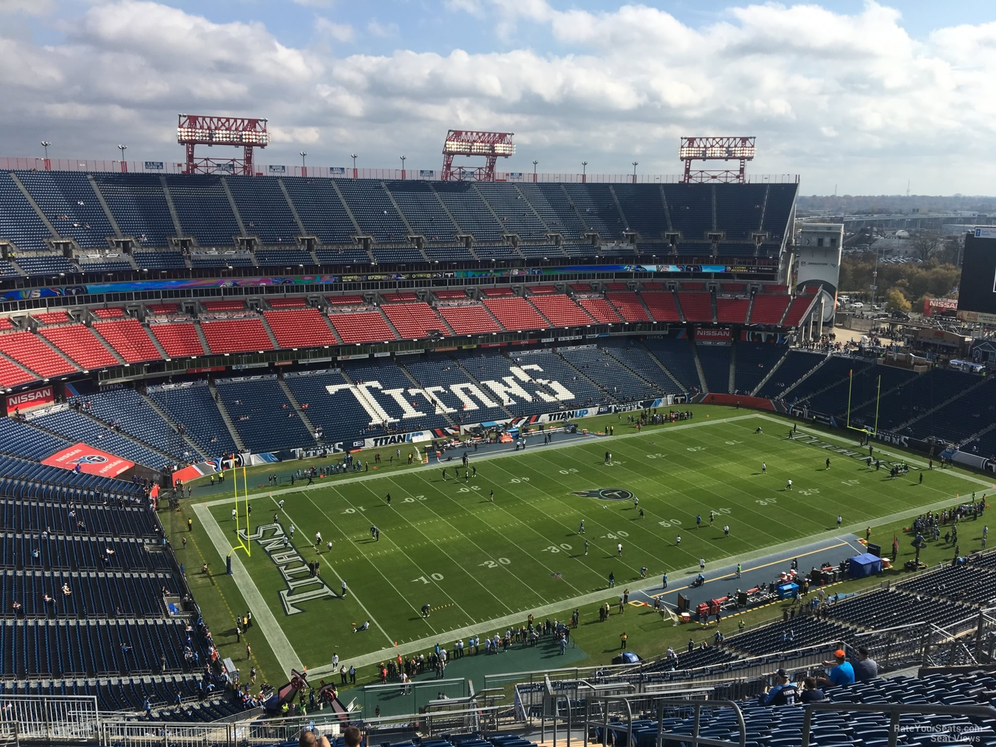 Nissan Stadium Section 341 Tennessee Titans