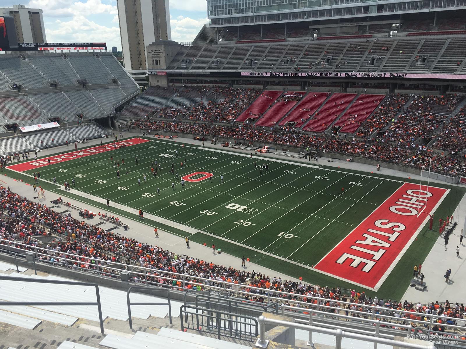 Ohio Stadium Section 14c Rateyourseats Com